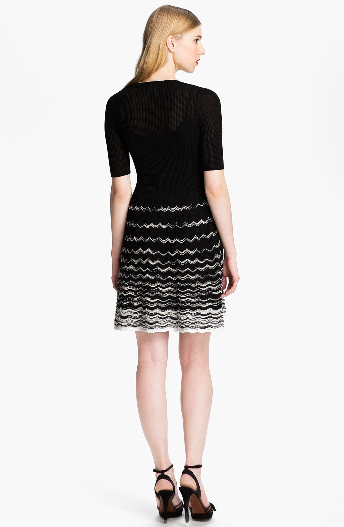 Alternate Image 2  - M Missoni Wave Pattern Two Tone Dress