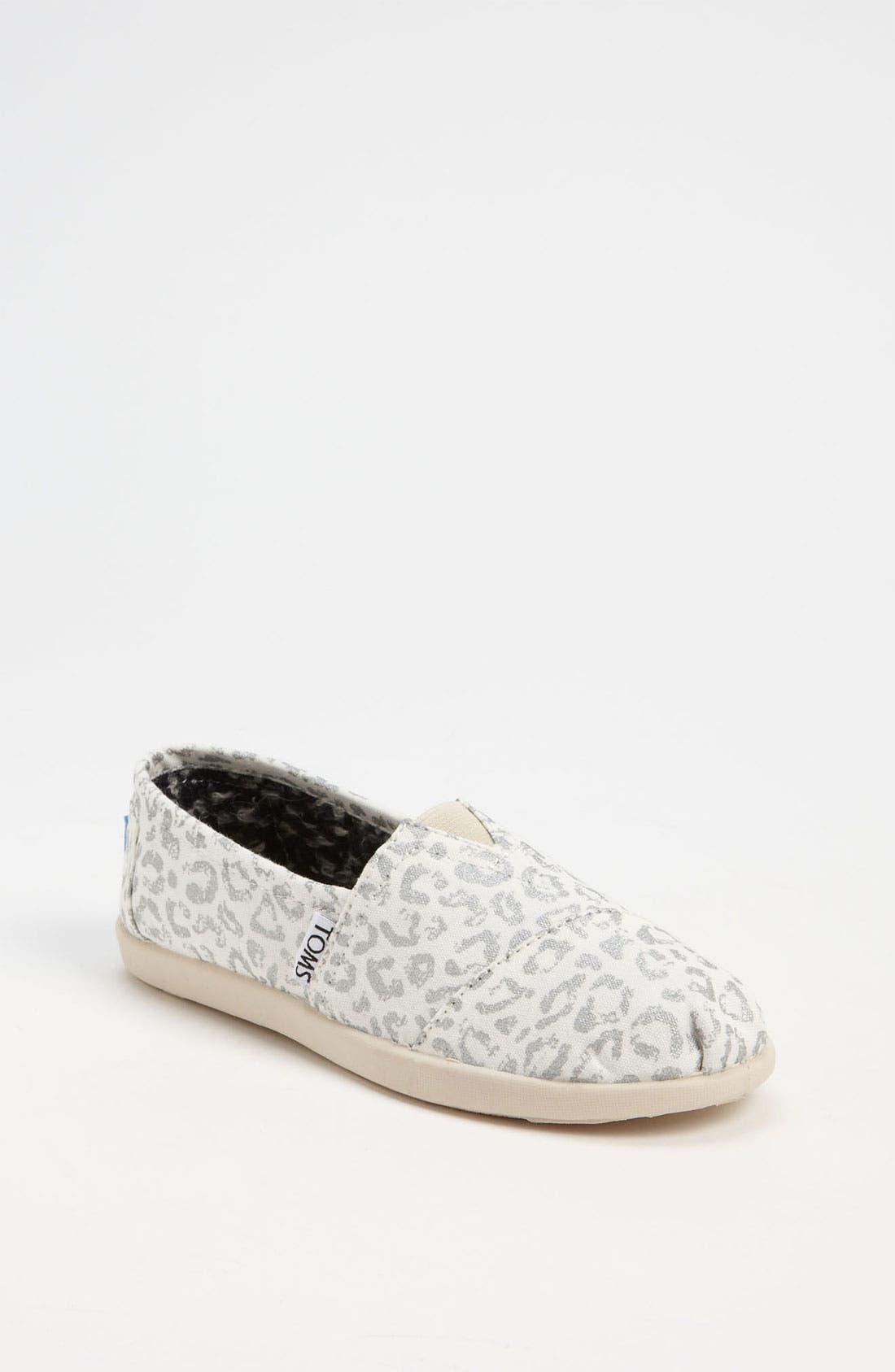 Main Image - TOMS 'Classic Youth - Earthwise Leopard' Slip-On (Toddler, Little Kid, Big Kid)