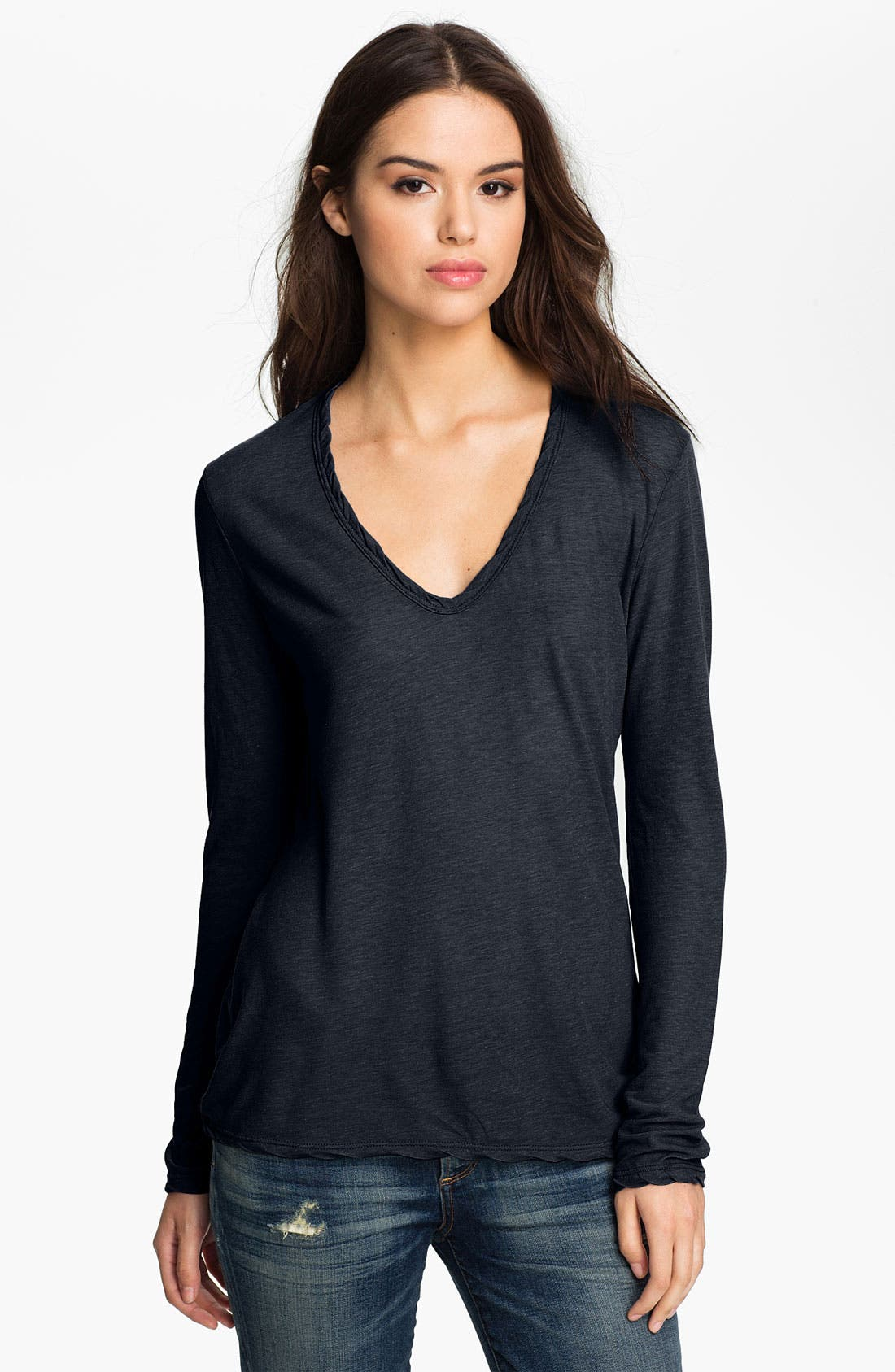 Alternate Image 1 Selected - James Perse V-Neck Tee