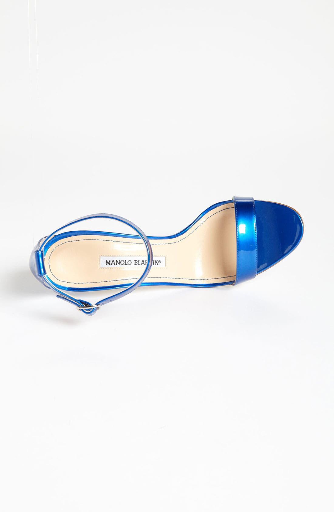 Alternate Image 3  - Manolo Blahnik 'Chaos Cuff' Sandal (Women)