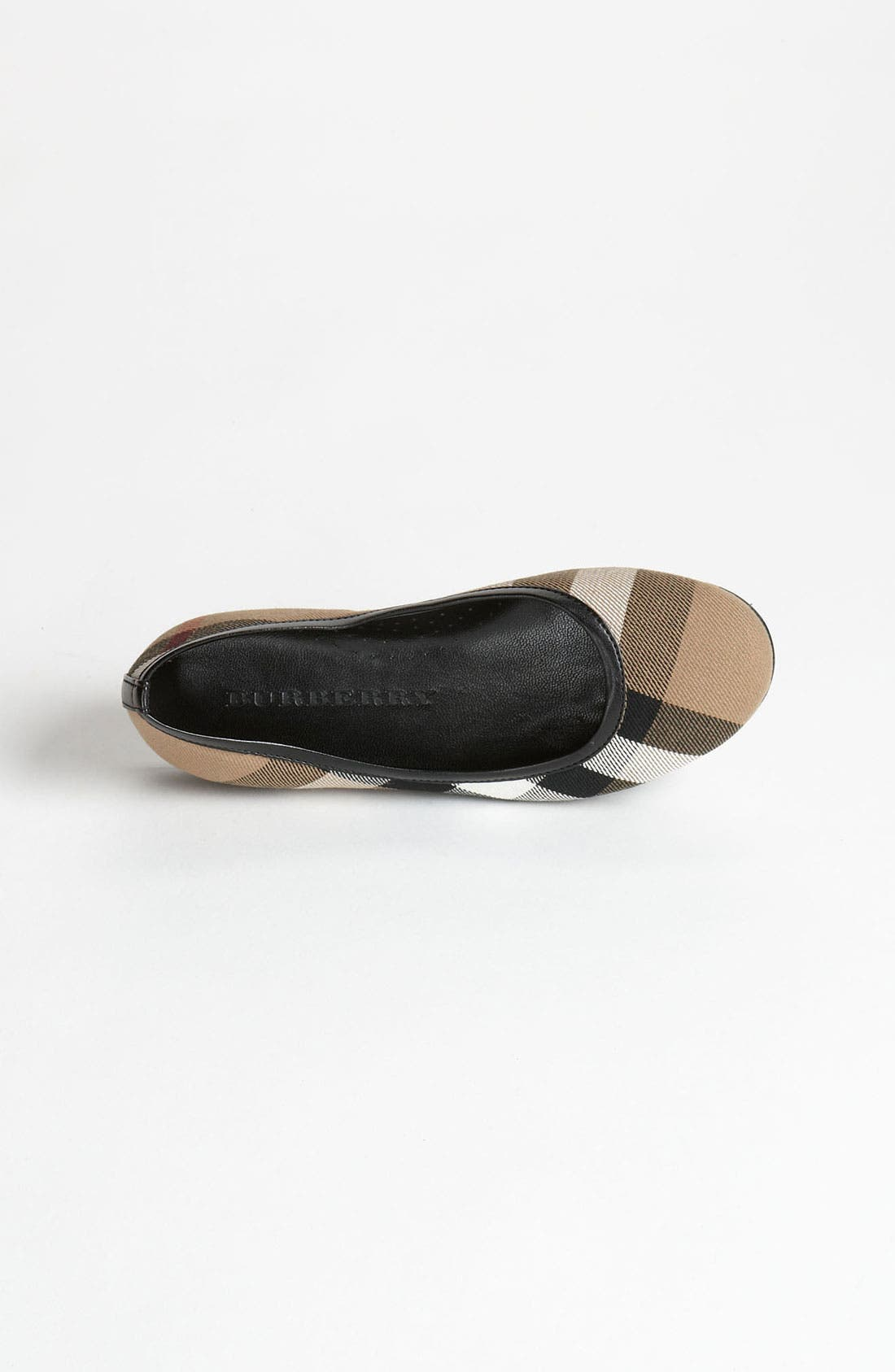 Alternate Image 3  - Burberry 'Adelle' Flat (Walker, Toddler, Little Kid & Big Kid)