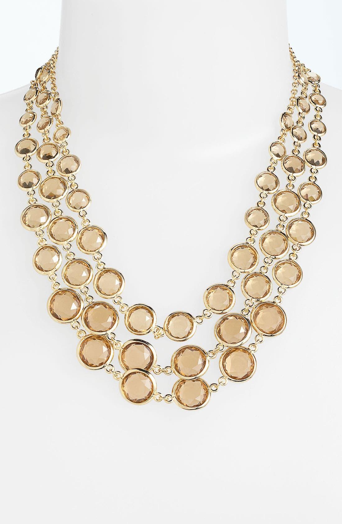 Main Image - Anne Klein Bib Necklace