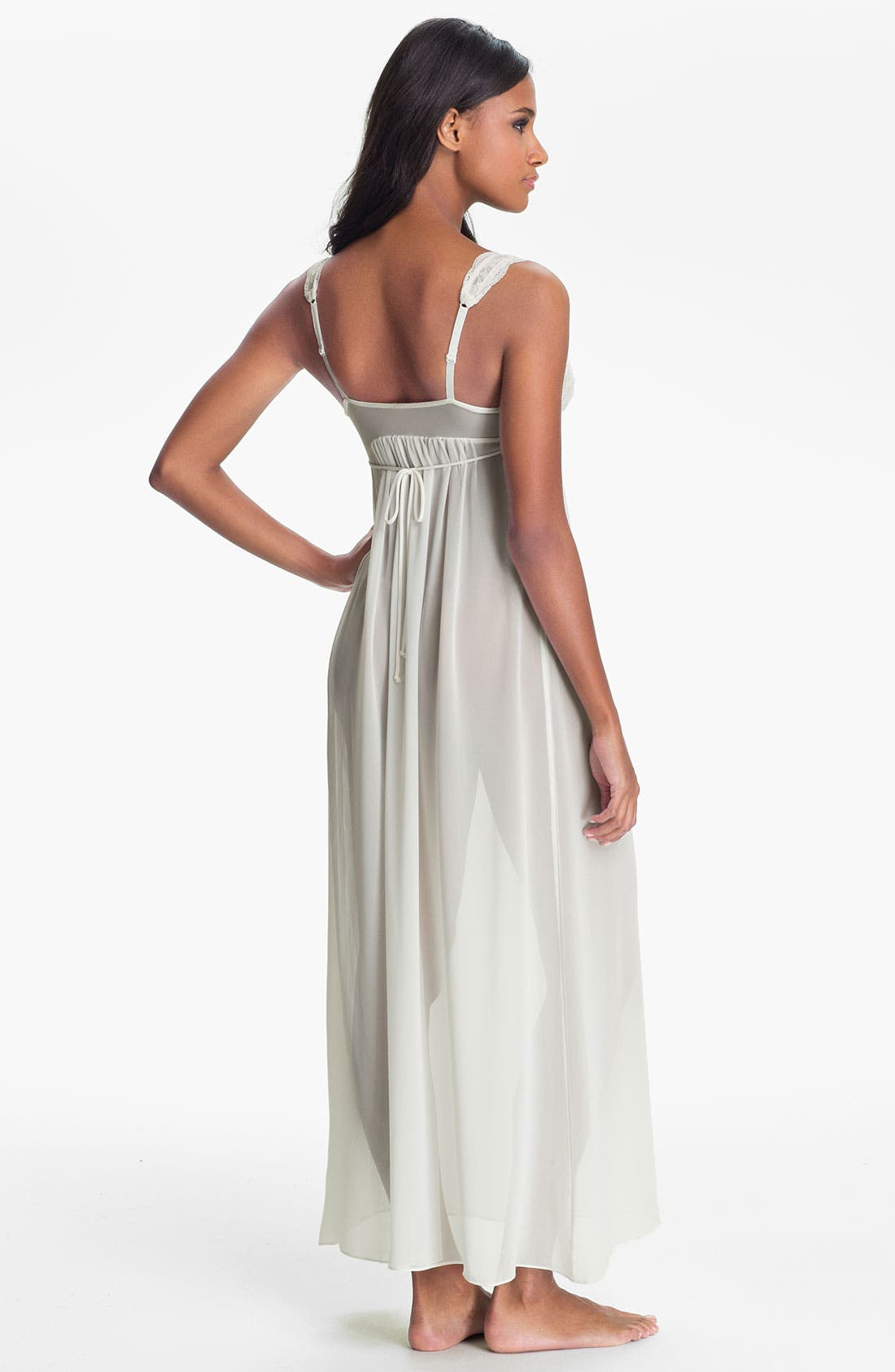 Alternate Image 2  - In Bloom by Jonquil 'Pearls & Lace' Nightgown