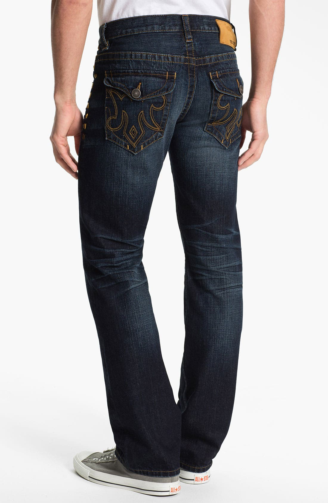 Alternate Image 1 Selected - MEK Denim 'Tucker' Straight Leg Jeans (Chandler)