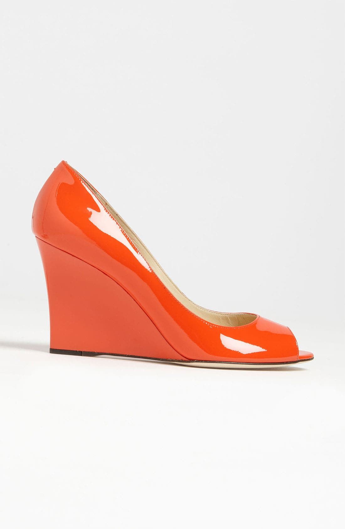 Alternate Image 4  - Jimmy Choo 'Baxen' Peep Toe Wedge