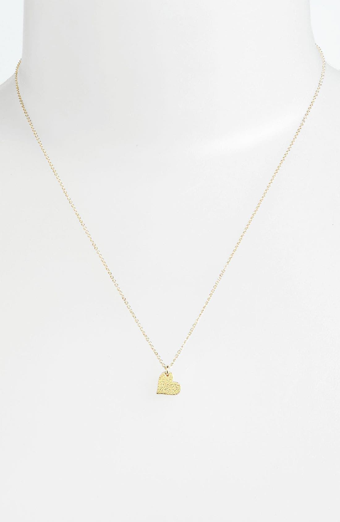 Alternate Image 2  - Dogeared 'Sparkle Heart' Boxed Pendant Necklace