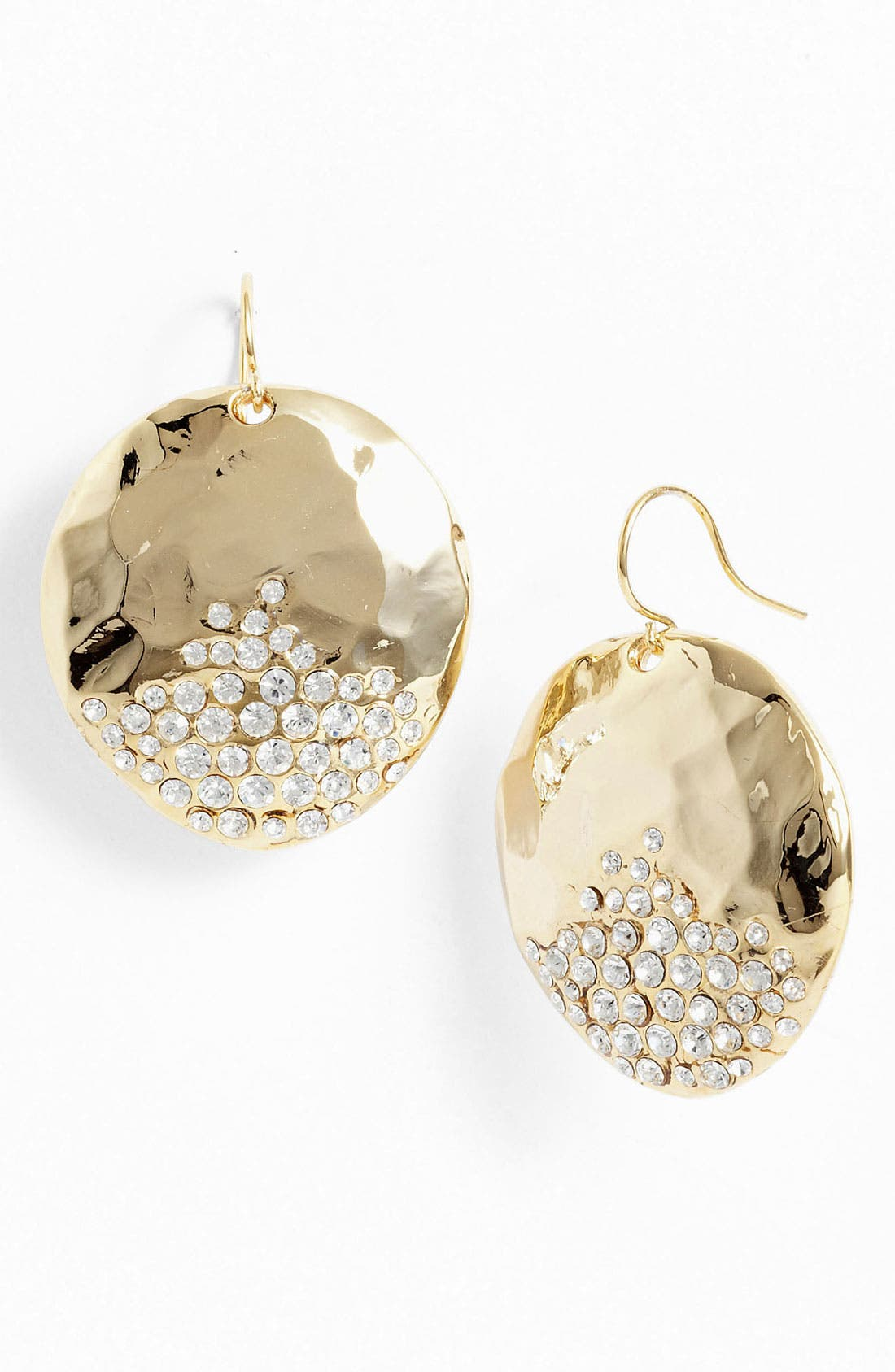 Alternate Image 1 Selected - Nordstrom 'Sand Dollar' Drop Earrings