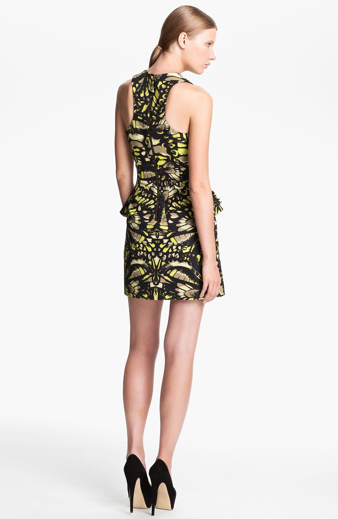 Alternate Image 2  - McQ by Alexander McQueen Fluted Hip Dress