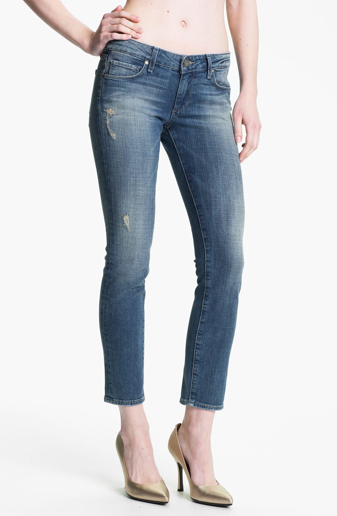Main Image - Paige Denim 'Skyline' Ankle Peg Skinny Stretch Jeans (Sadie)