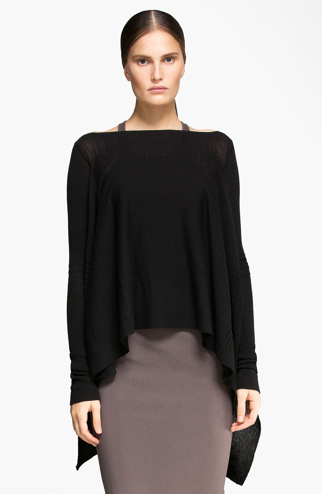 Alternate Image 1 Selected - Rick Owens Cashmere Sweater