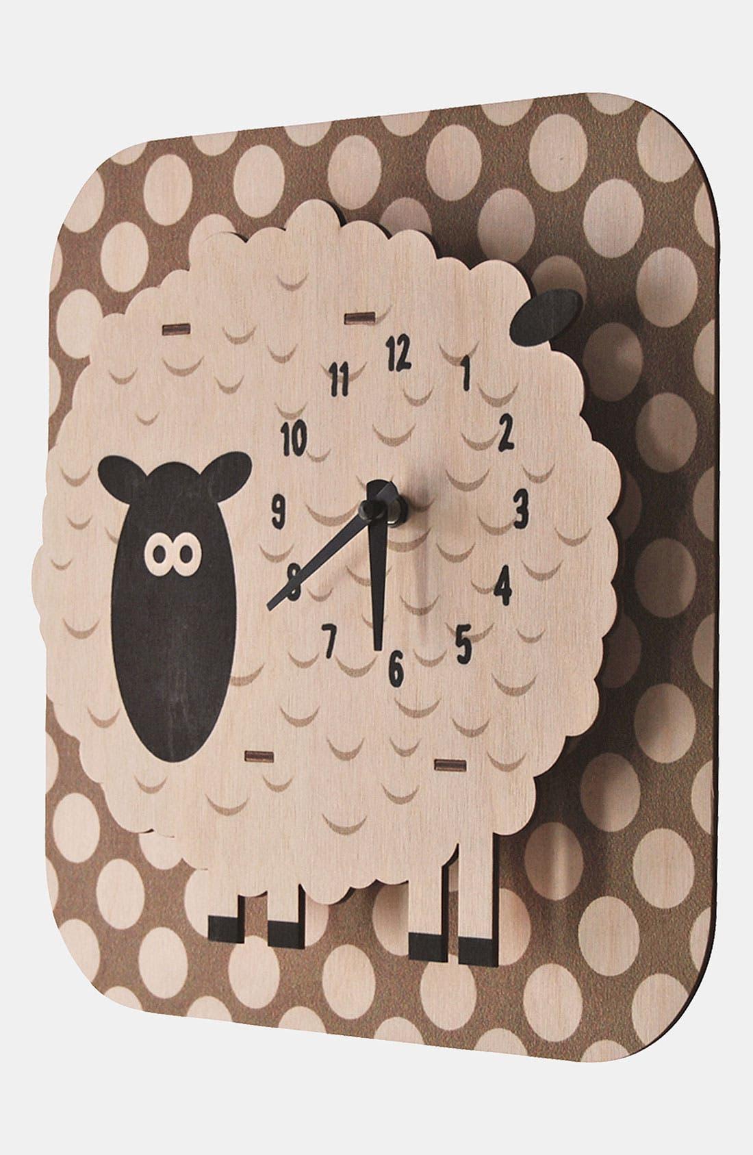 Alternate Image 2  - Modern Moose 'Sheep Dots' Clock