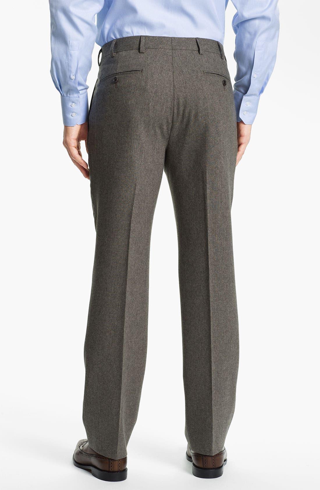Alternate Image 5  - Brooks Brothers Tweed Wool Suit