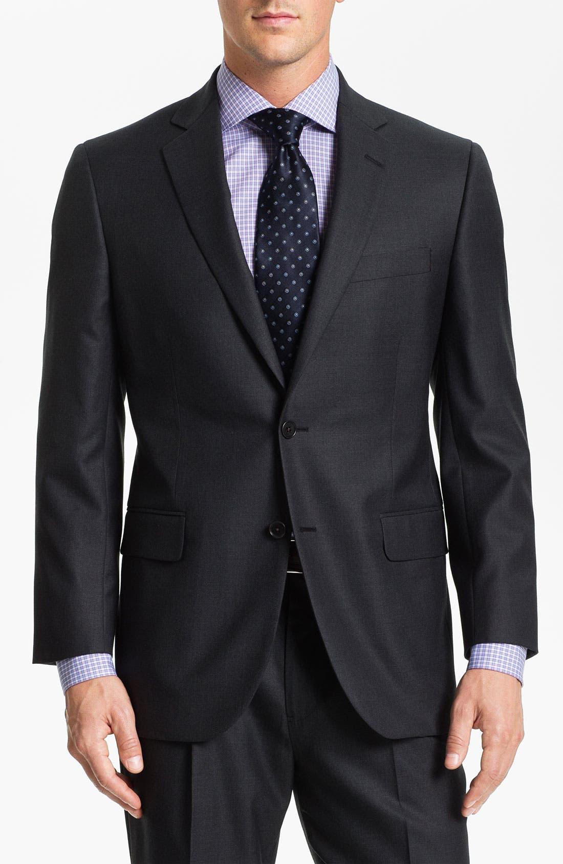 Main Image - Brooks Brothers 'Madison' Wool Suit