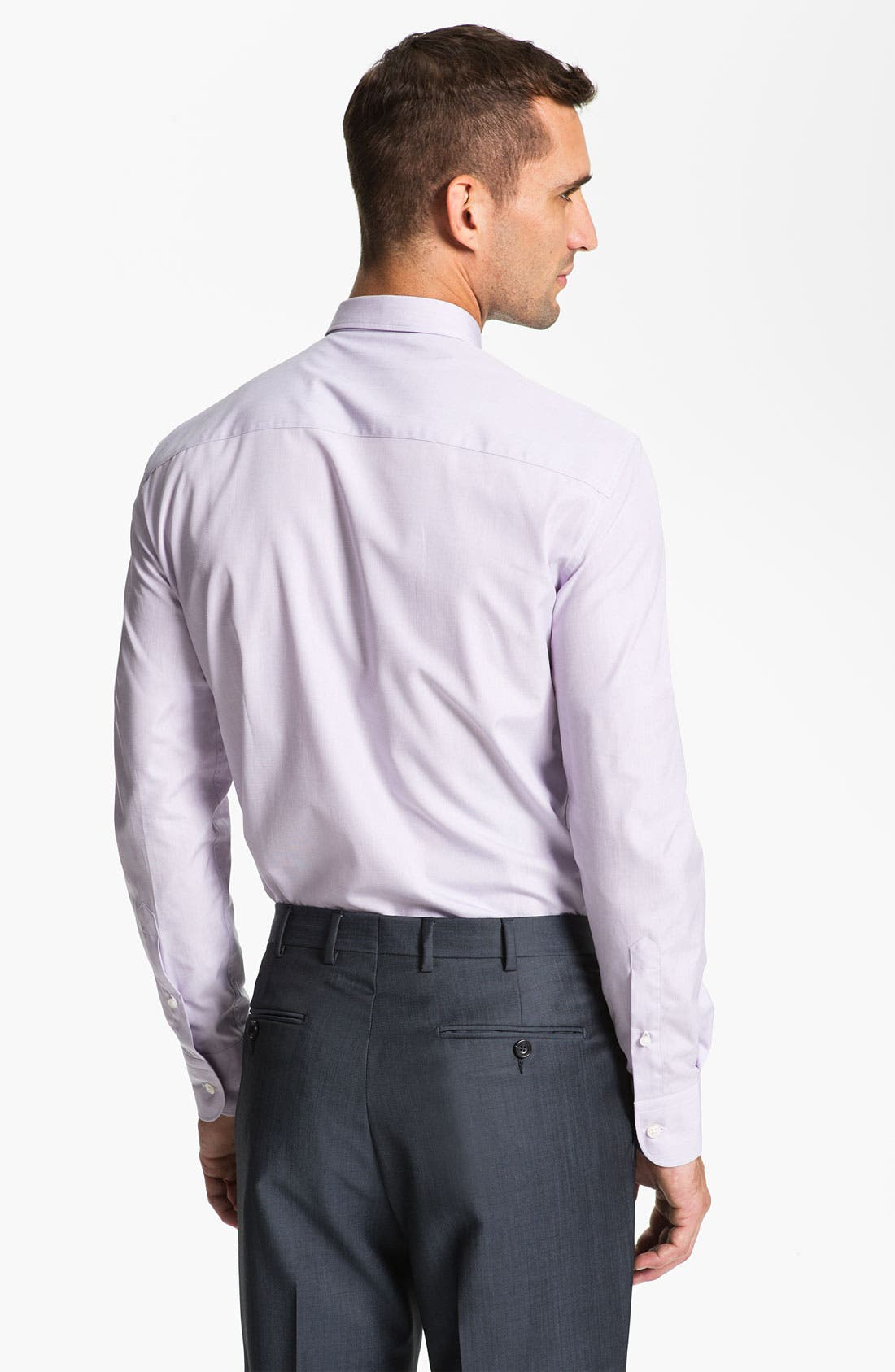 Alternate Image 2  - Z Zegna Extra Trim Fit Dress Shirt