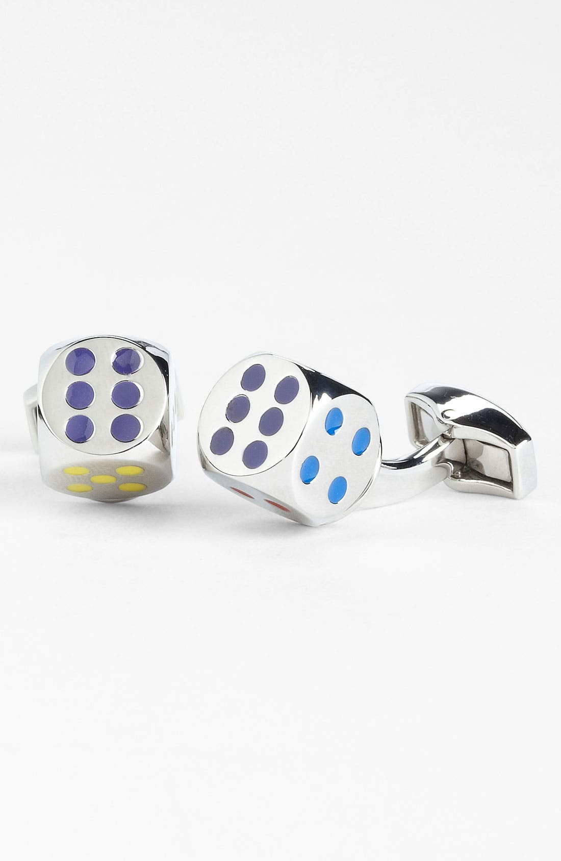 Alternate Image 1 Selected - Tateossian 'Real Dice' Cuff Links