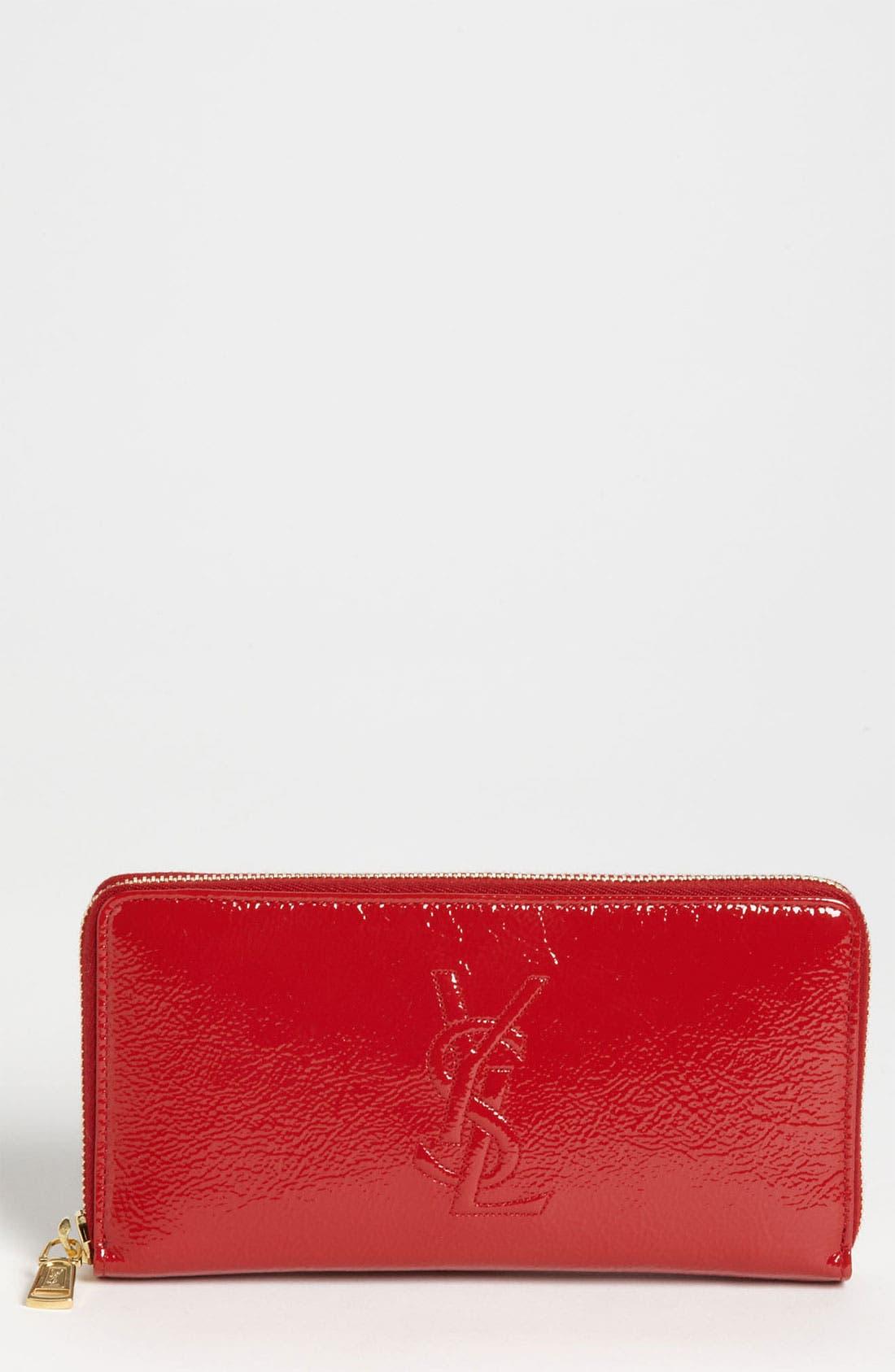 Alternate Image 1 Selected - Saint Laurent 'Belle de Jour' Leather Wallet