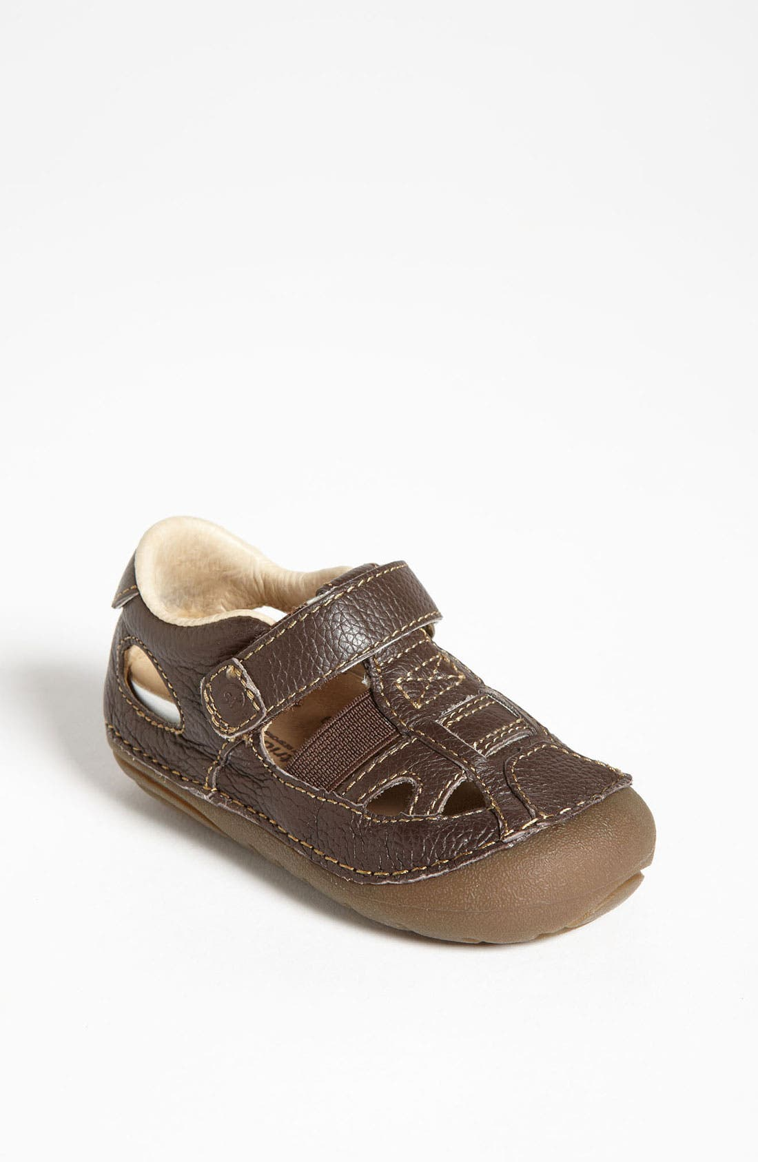 Alternate Image 1 Selected - Stride Rite 'Tony' Sandal (Baby & Walker)