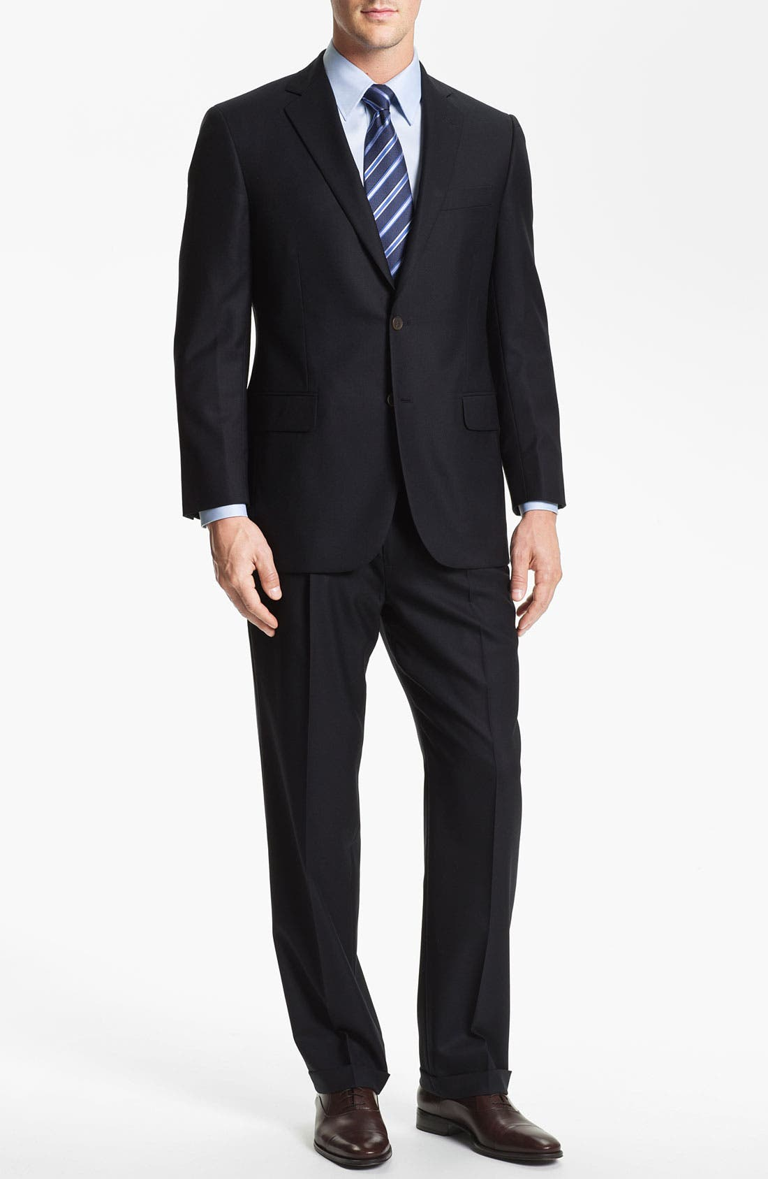 Alternate Image 2  - Brooks Brothers 'Madison' Wool Suit