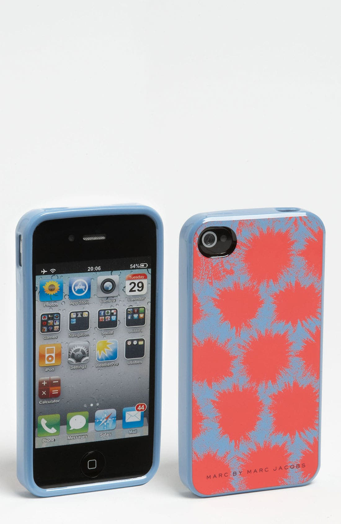 Alternate Image 1 Selected - MARC BY MARC JACOBS 'Sparks' iPhone 4 & 4S Case