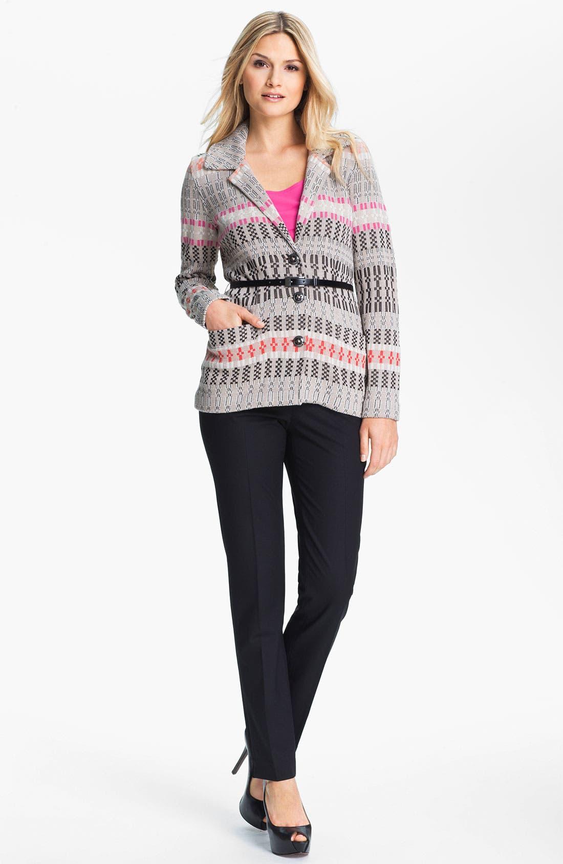 Alternate Image 4  - Nic + Zoe Belted Knit Jacket (Petite)