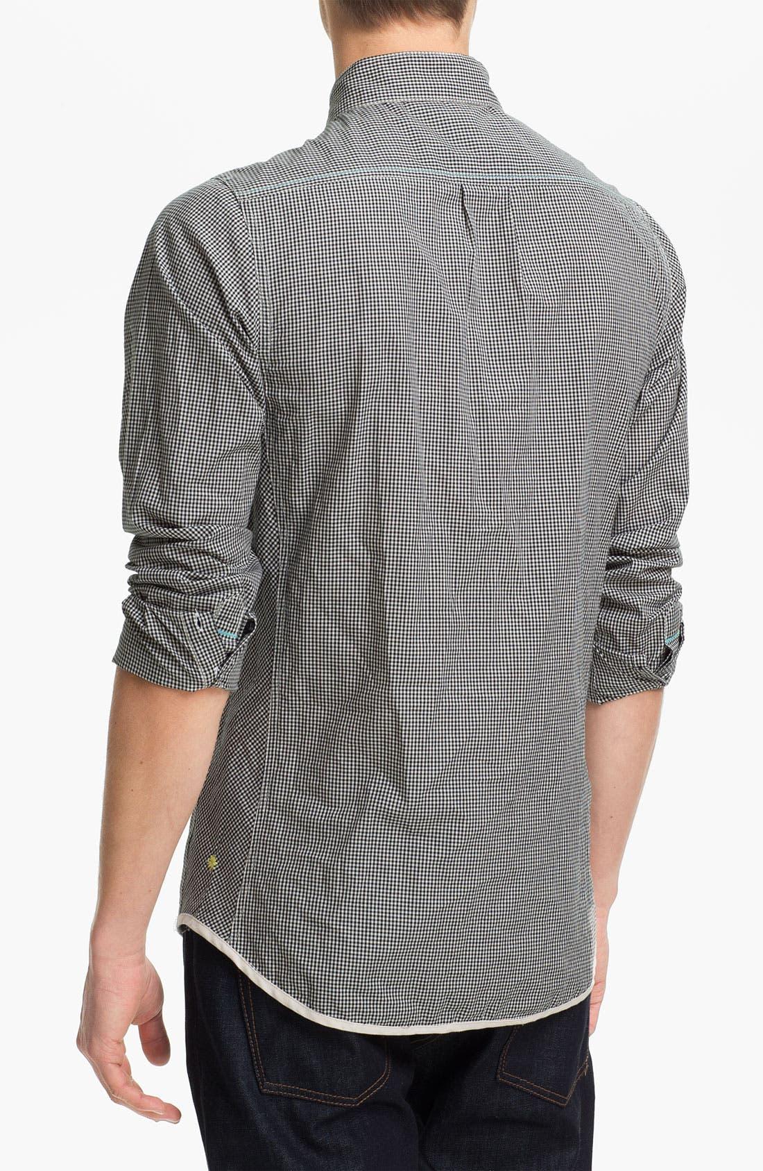 Alternate Image 2  - Descendant of Thieves Gingham Woven Shirt