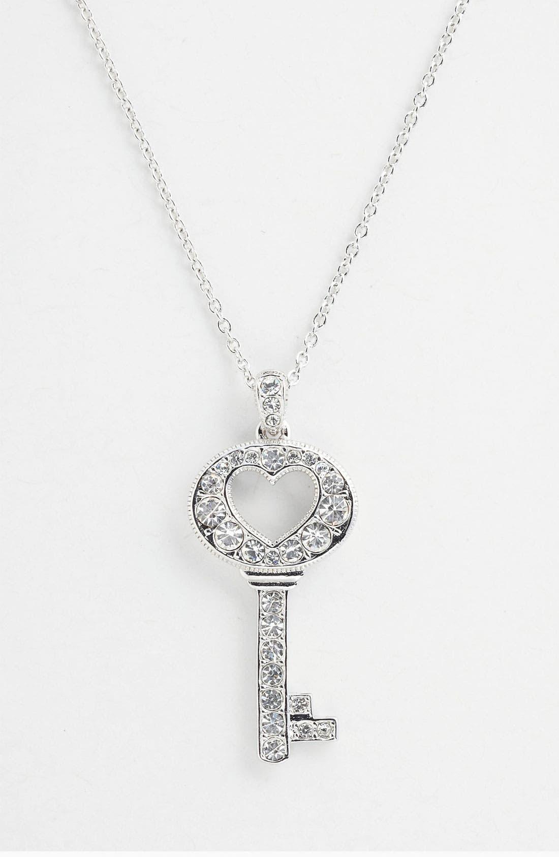 Main Image - Nadri Boxed Key Pendant Necklace (Nordstrom Exclusive)