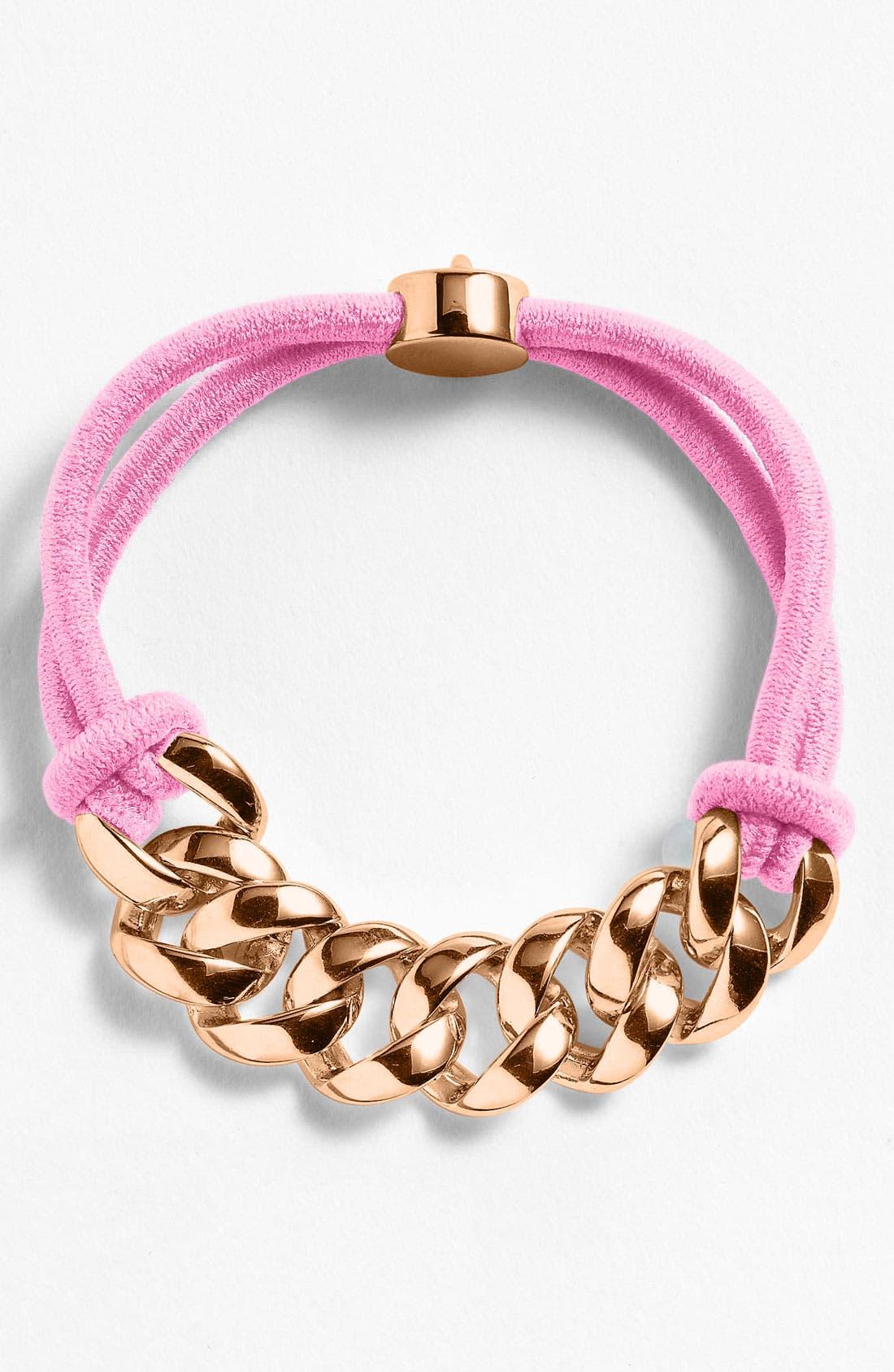 Alternate Image 1 Selected - MARC BY MARC JACOBS 'Turnlock' Cord Bracelet