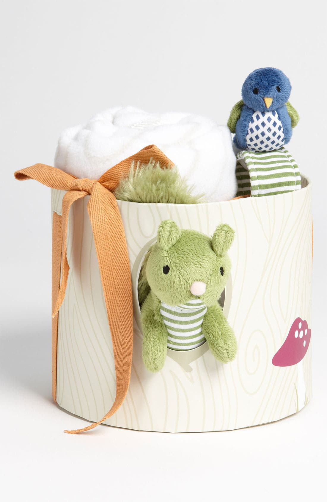 Alternate Image 1 Selected - Baby Aspen 'Earl The Squirrel' Gift Set