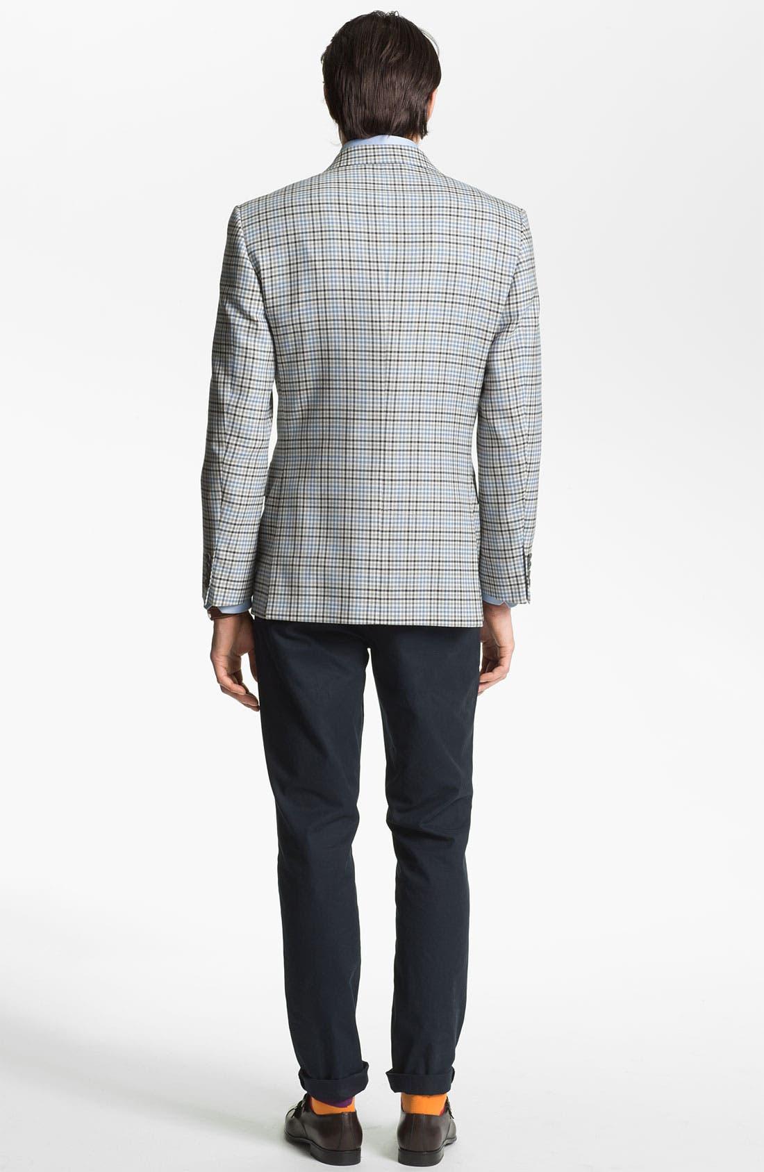 Alternate Image 5  - Joseph Abboud 'Signature Silver' Check Sportcoat