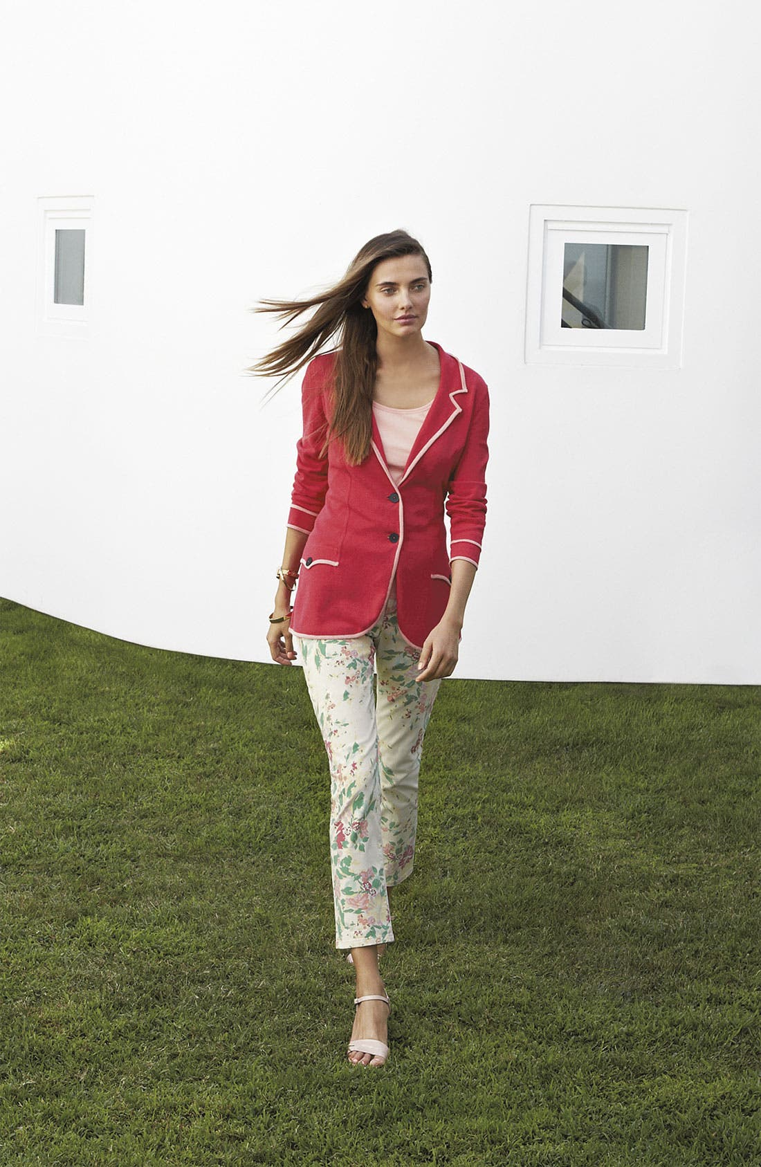 Alternate Image 3  - NYDJ 'Alisha' Floral Print Skinny Stretch Ankle Jeans