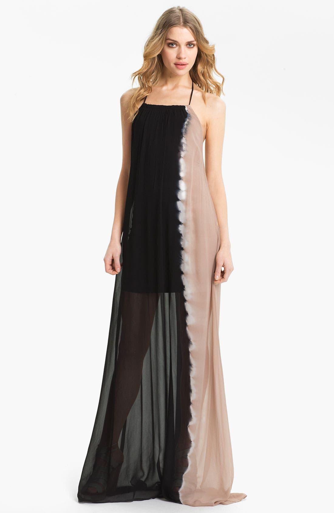 Main Image - Young, Fabulous & Broke 'Gila' Chiffon Maxi Dress