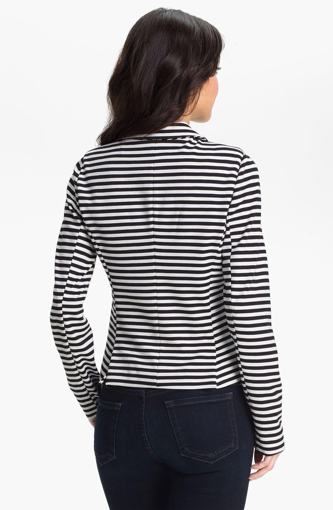 Alternate Image 2  - Halogen Stripe Ponte Jacket