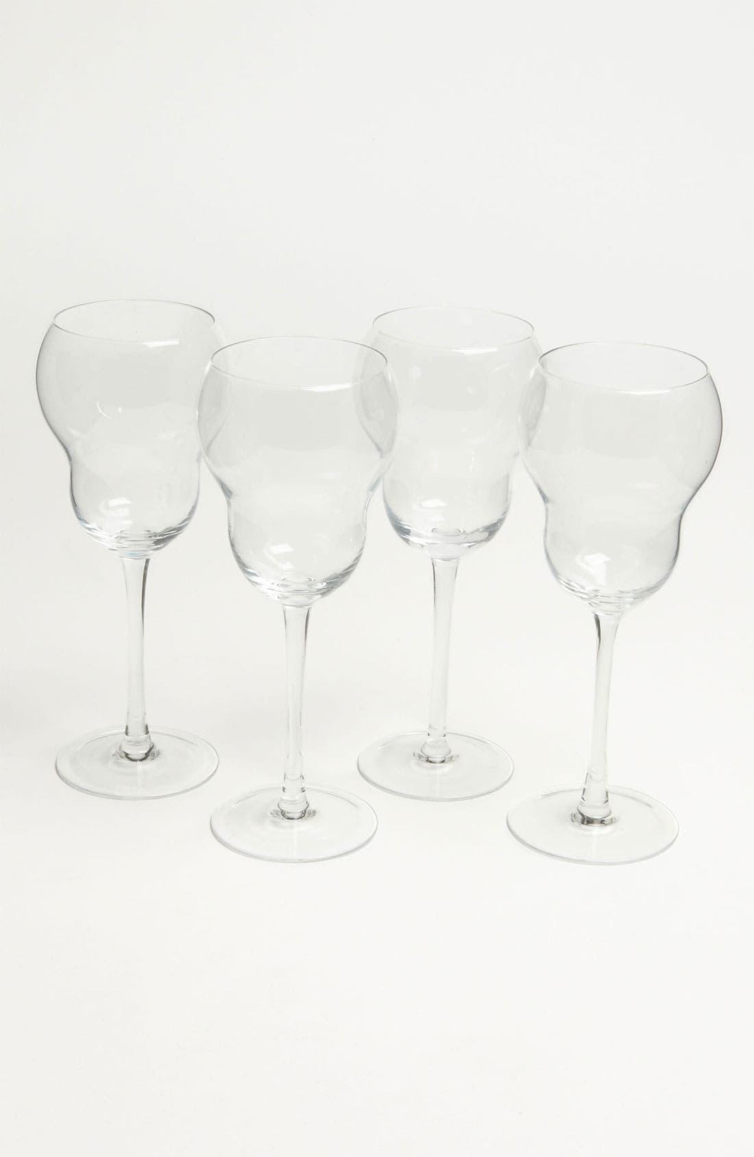 Main Image - 'Bubble' White Wine Glasses (Set of 4)