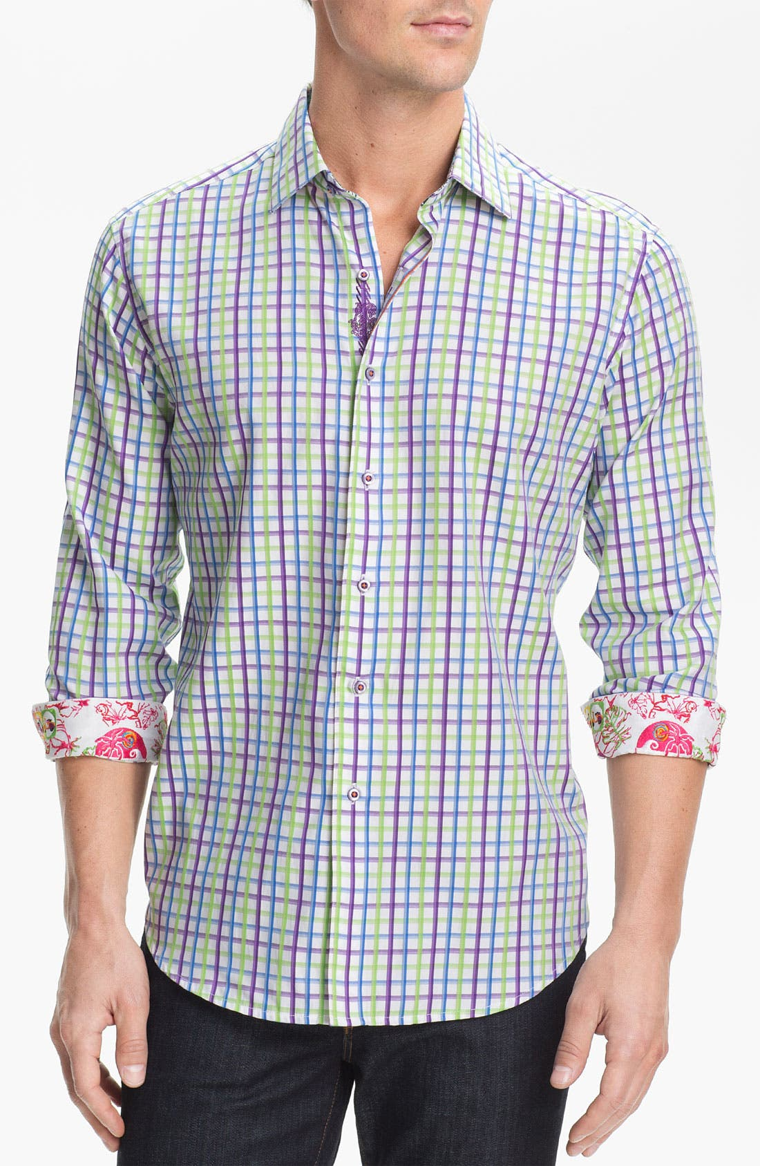 Alternate Image 1 Selected - Robert Graham 'Capella' Sport Shirt