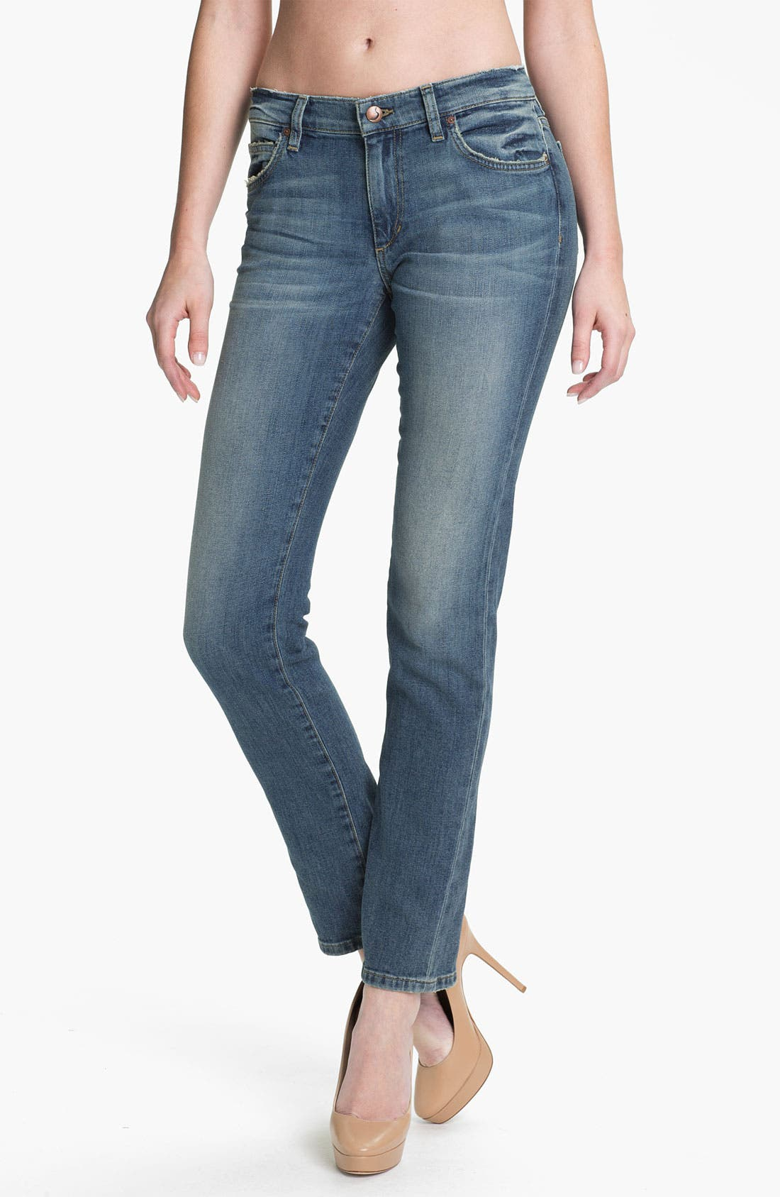 Alternate Image 1 Selected - Joe's 'Easy Slim' Vintage Wash Jeans (Tess)
