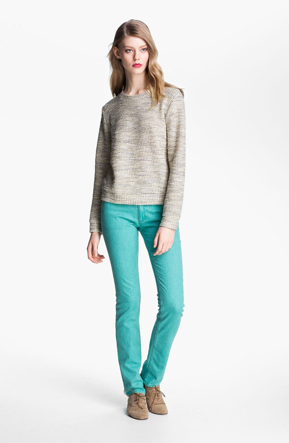 Alternate Image 2  - A.P.C. Colored Slim Leg Jeans