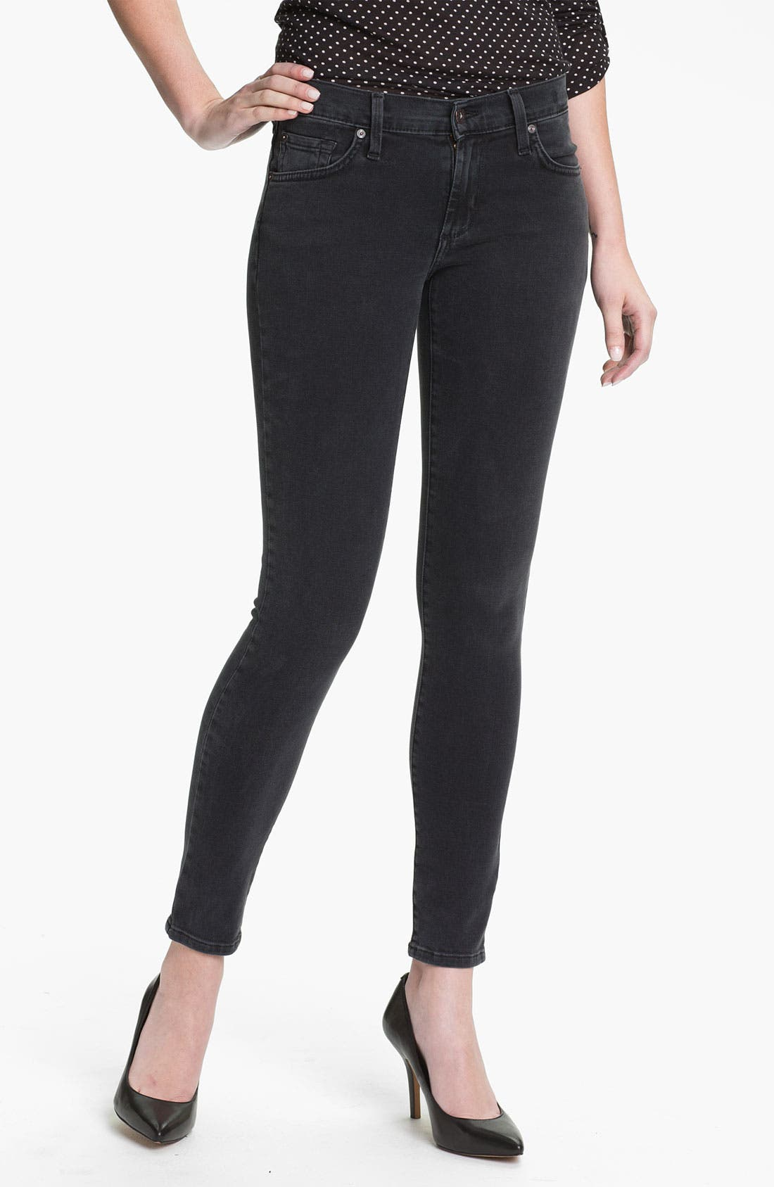 Main Image - James Jeans Stretch Denim Leggings (Petite) (Online Exclusive)