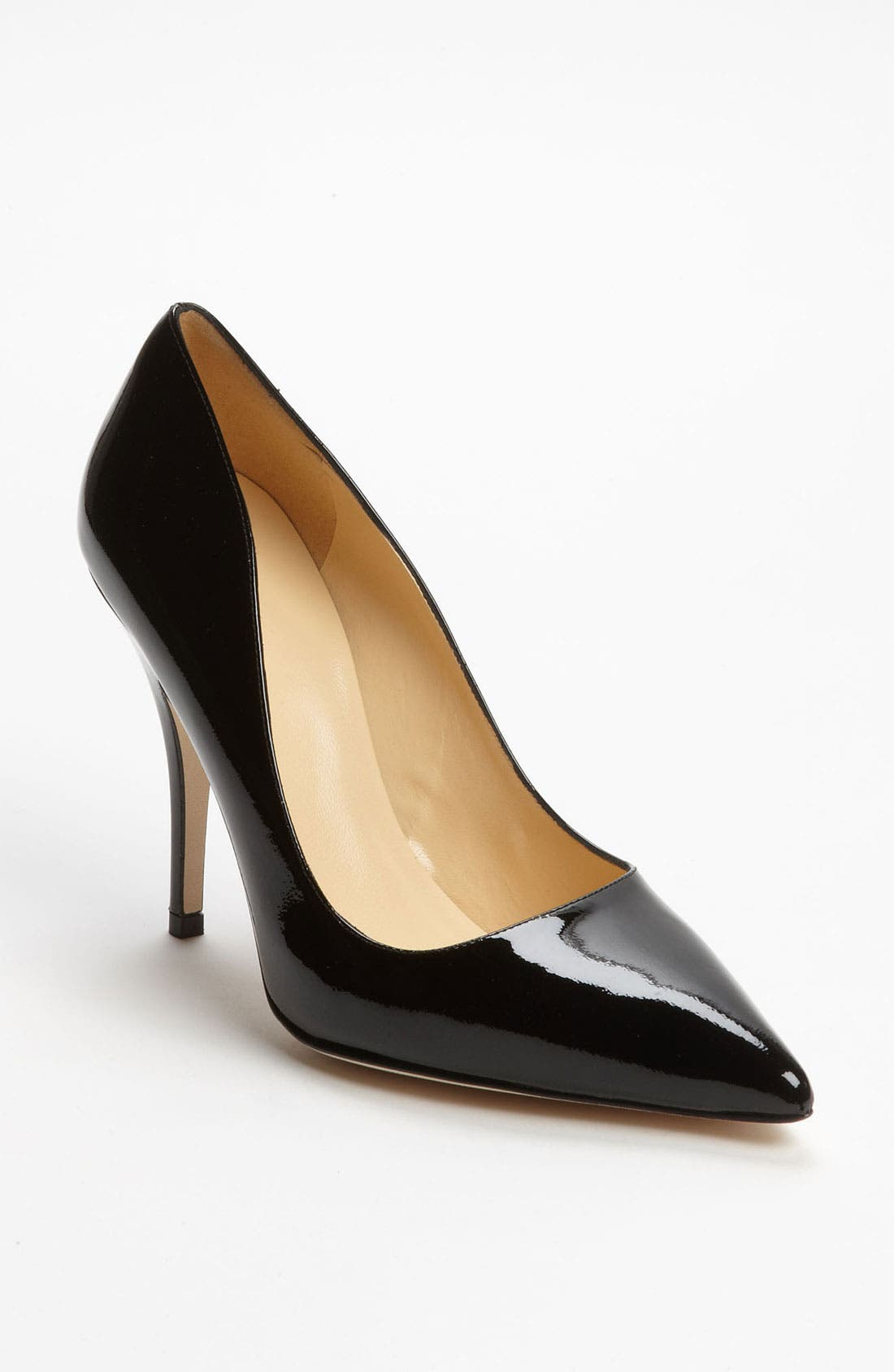 'licorice too' pump,                             Main thumbnail 1, color,                             Black Patent