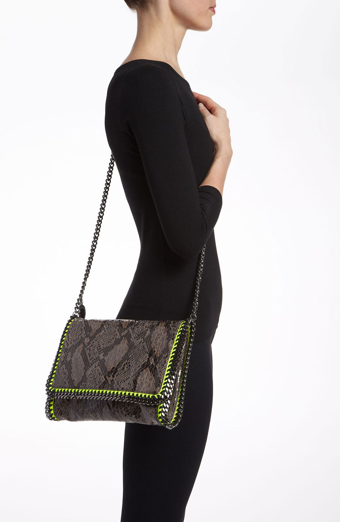 Alternate Image 2  - Stella McCartney 'Falabella' Faux Python Crossbody Bag