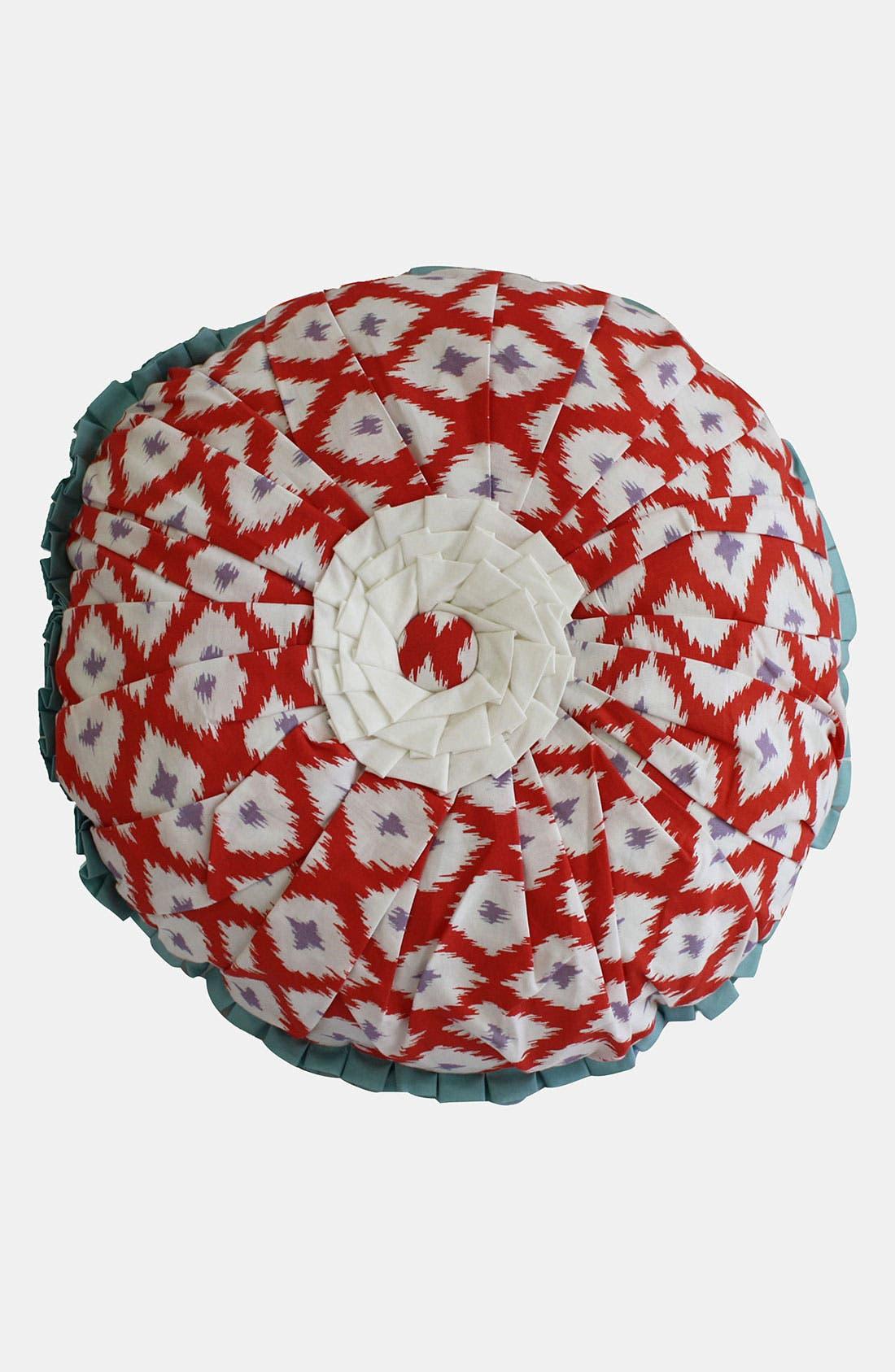 Alternate Image 1 Selected - Dena Home 'Paradiso' Round Pillow
