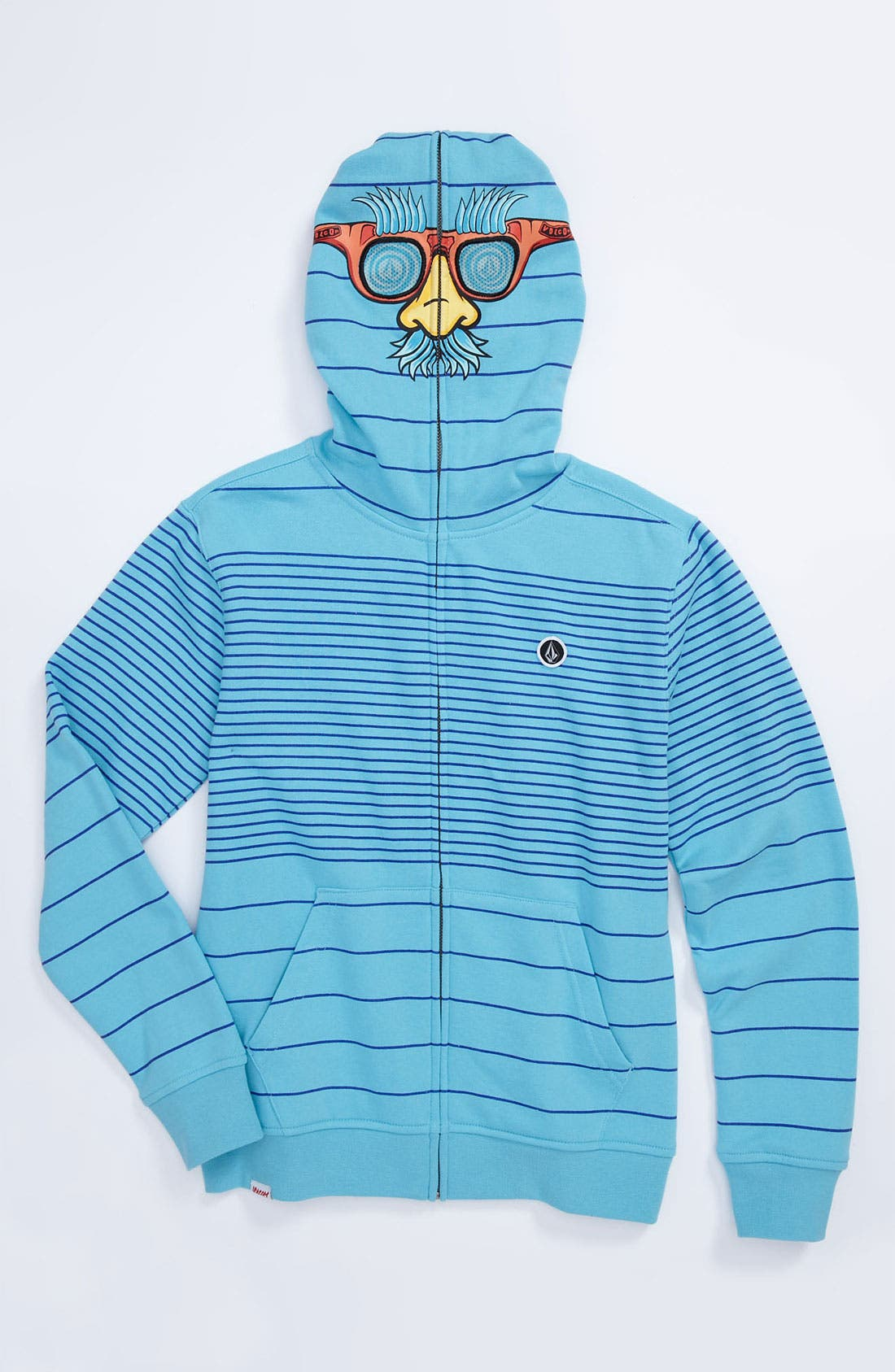 Alternate Image 1 Selected - Volcom 'Fuzzy' Mask Hoodie (Big Boys)