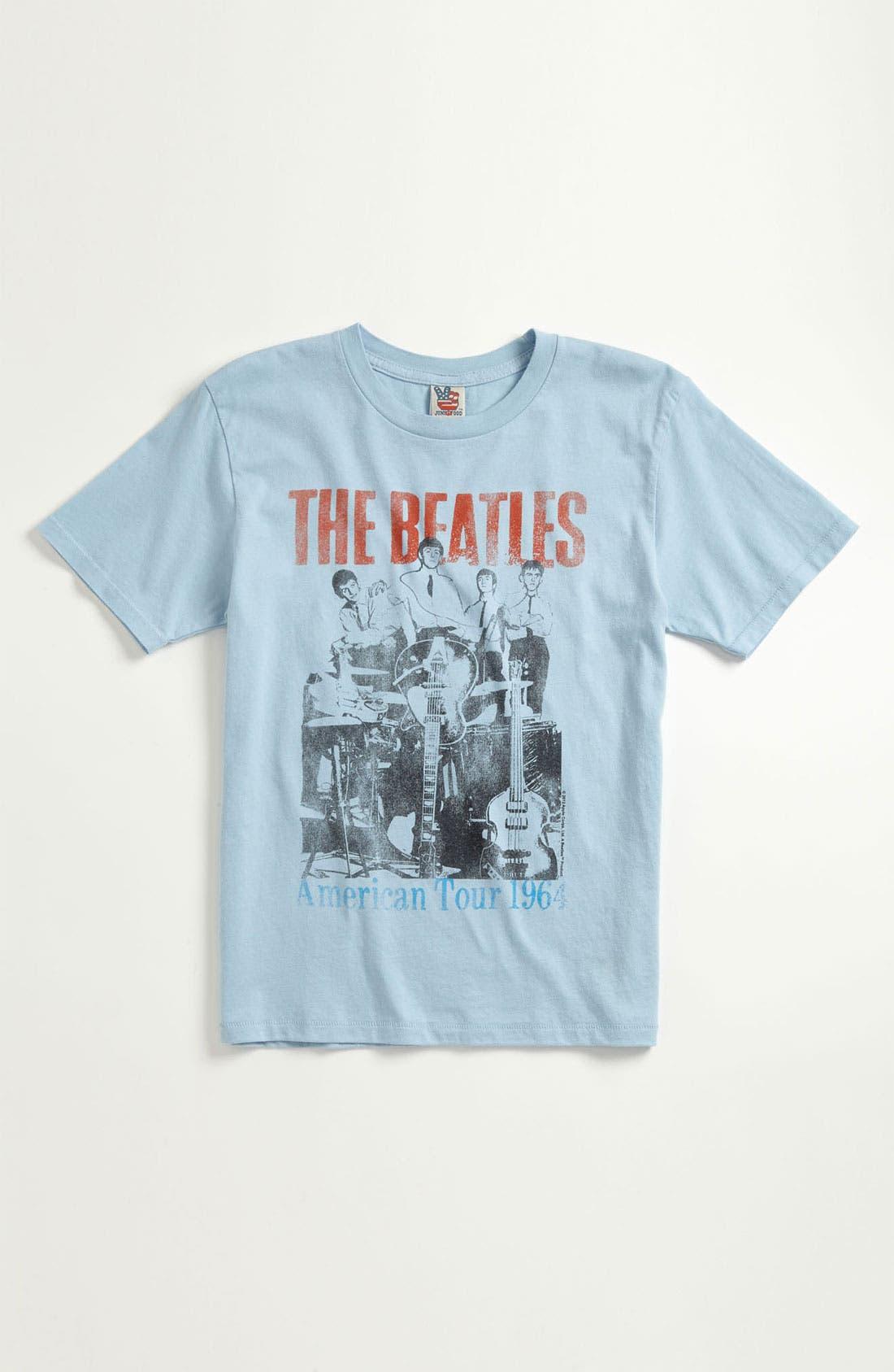 Alternate Image 1 Selected - Junk Food 'Beatles' T-Shirt (Little Boys & Big Boys)