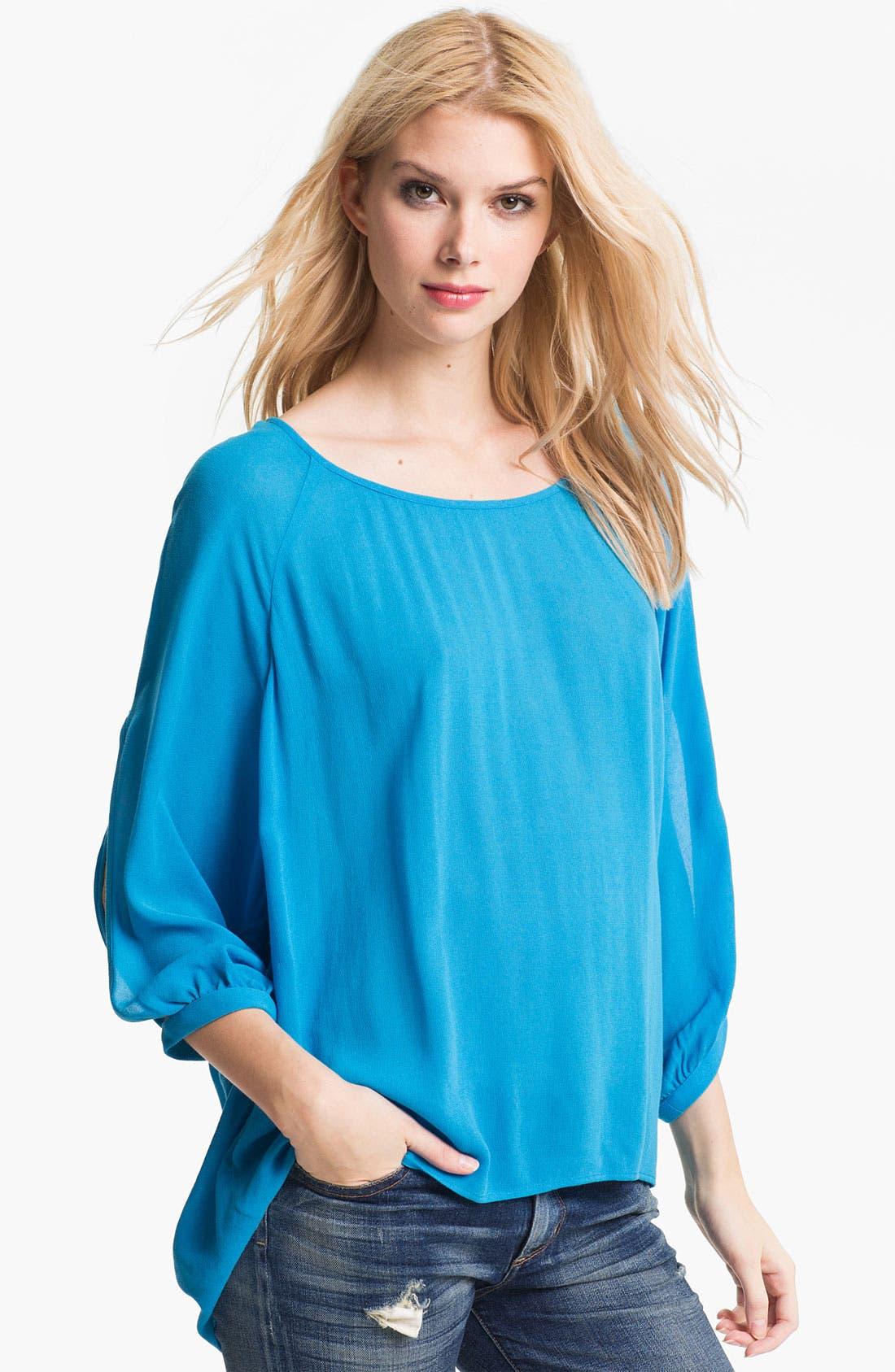 Main Image - Ella Moss 'Stella' Split Sleeve Top