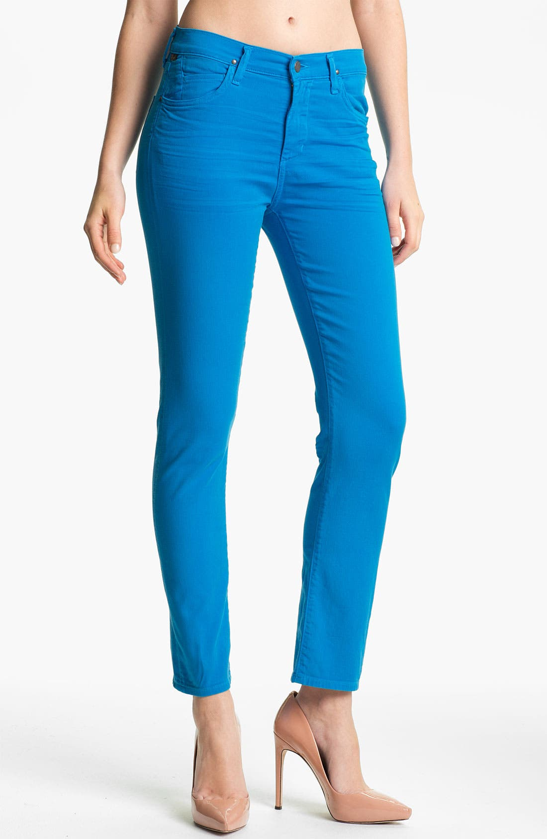Main Image - Citizens of Humanity 'Carlton' Crop Skinny Jeans (India Sky)