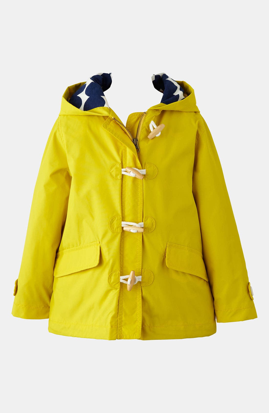 Alternate Image 1 Selected - Mini Boden 'Fisherman' Rain Jacket (Little Girls & Big Girls)