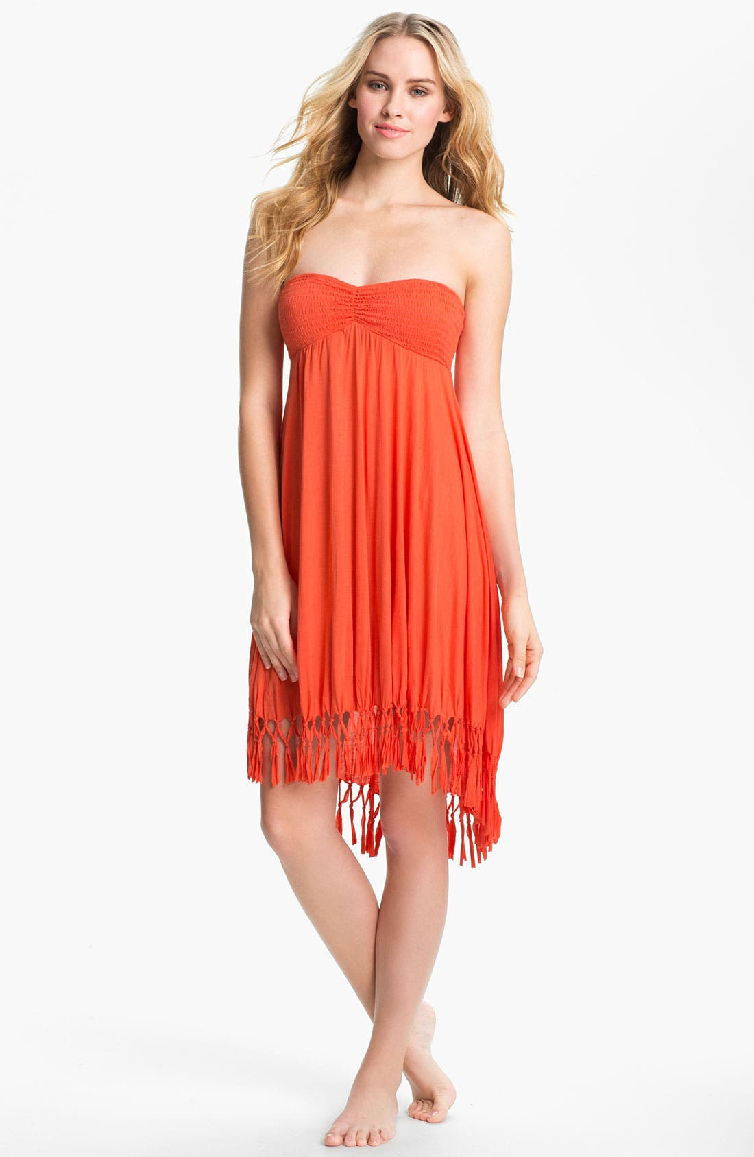 Alternate Image 1 Selected - Roxy 'Native Breeze' Cover-Up Dress