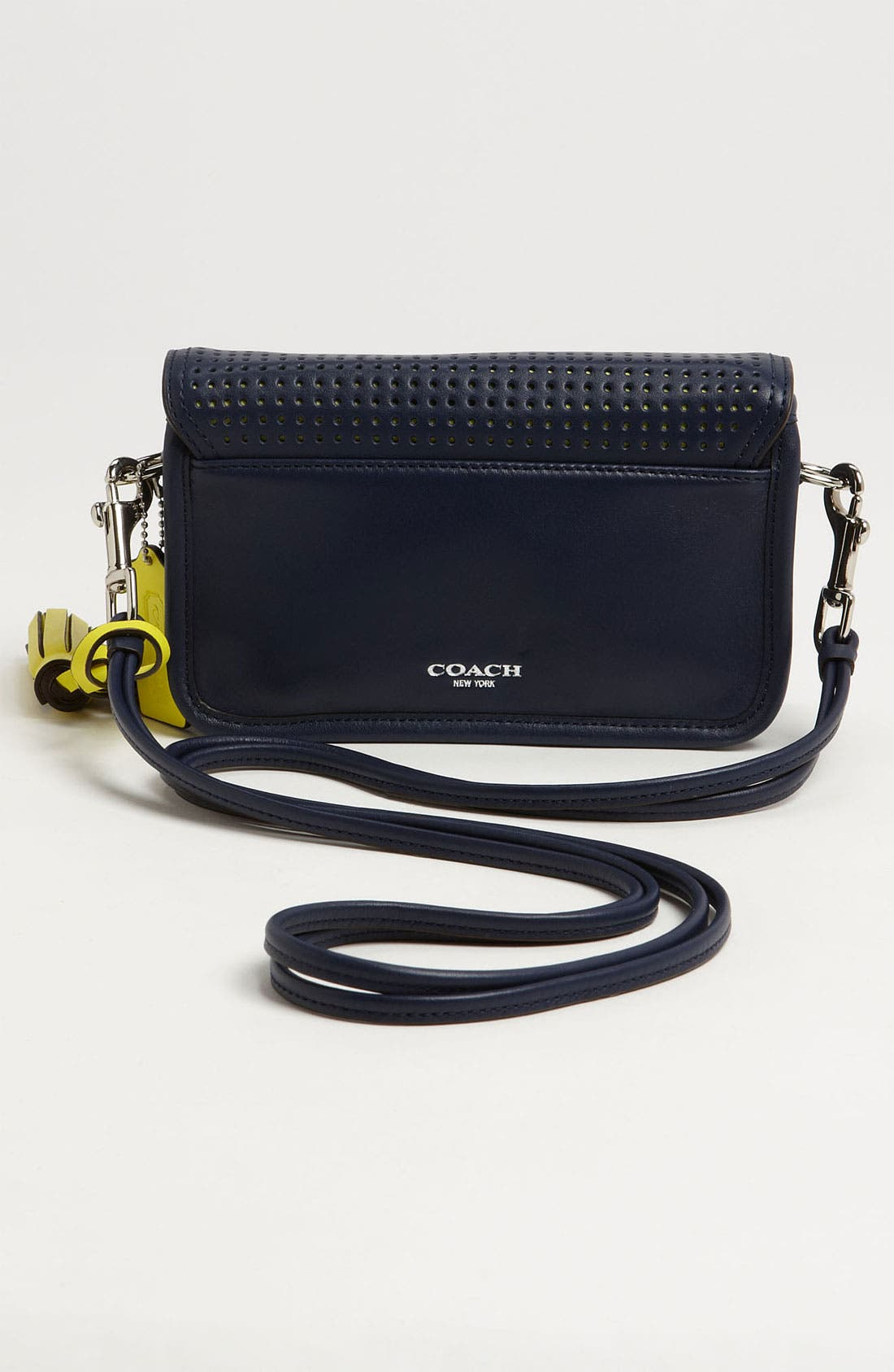 Alternate Image 4  - COACH 'Legacy - Penny' Perforated Leather Crossbody Bag