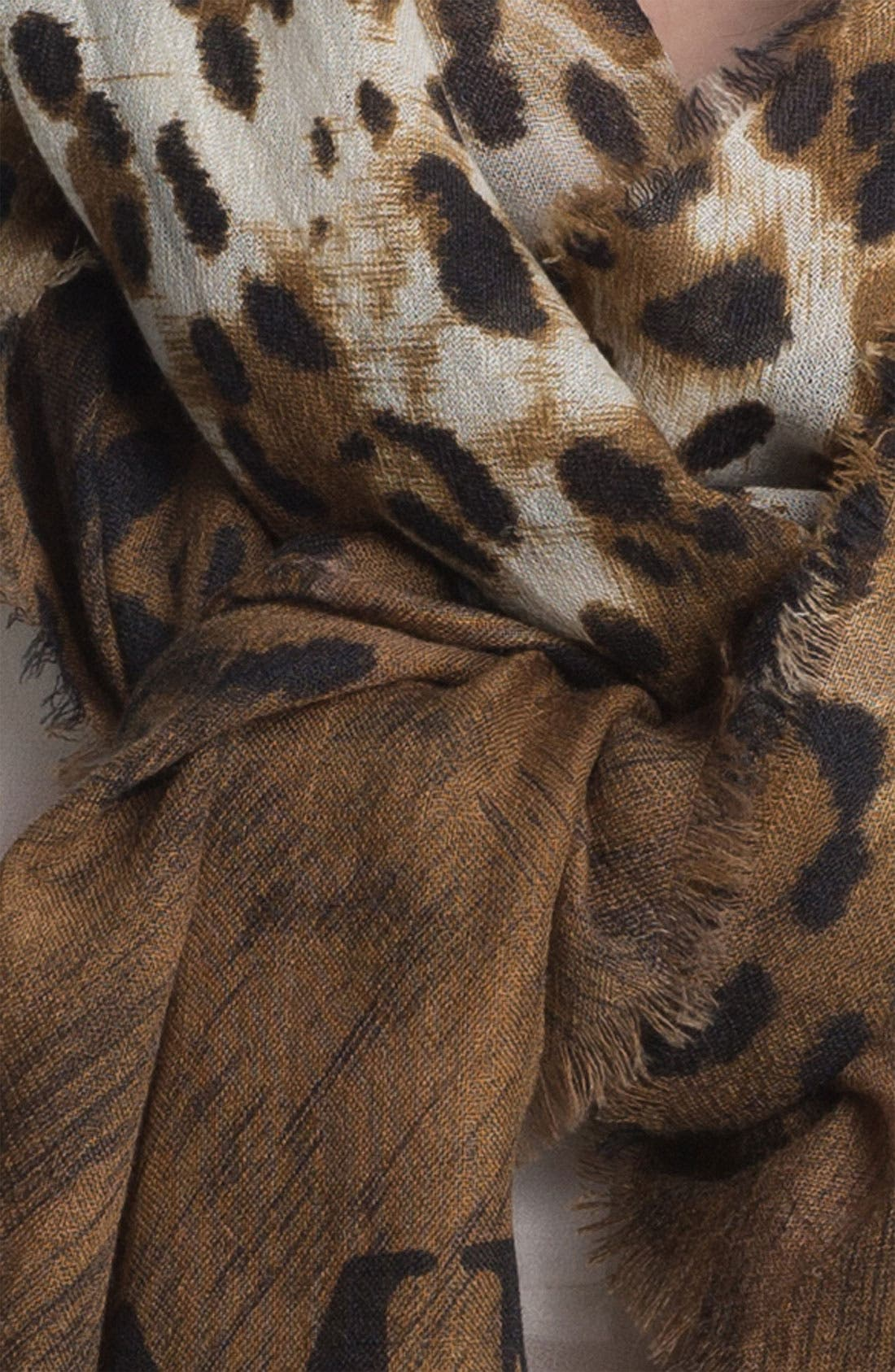 Alternate Image 2  - Jimmy Choo 'Shira' Cashmere Scarf
