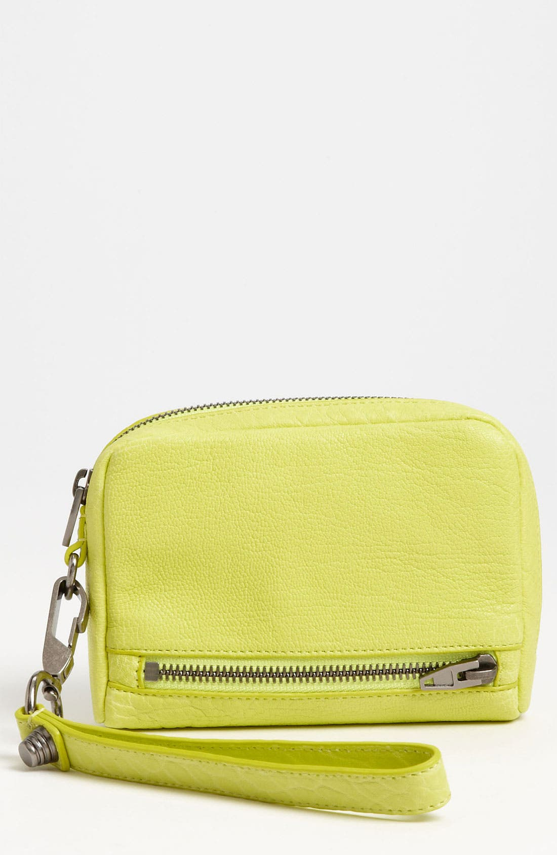 Main Image - Alexander Wang 'Fumo' Leather Wristlet