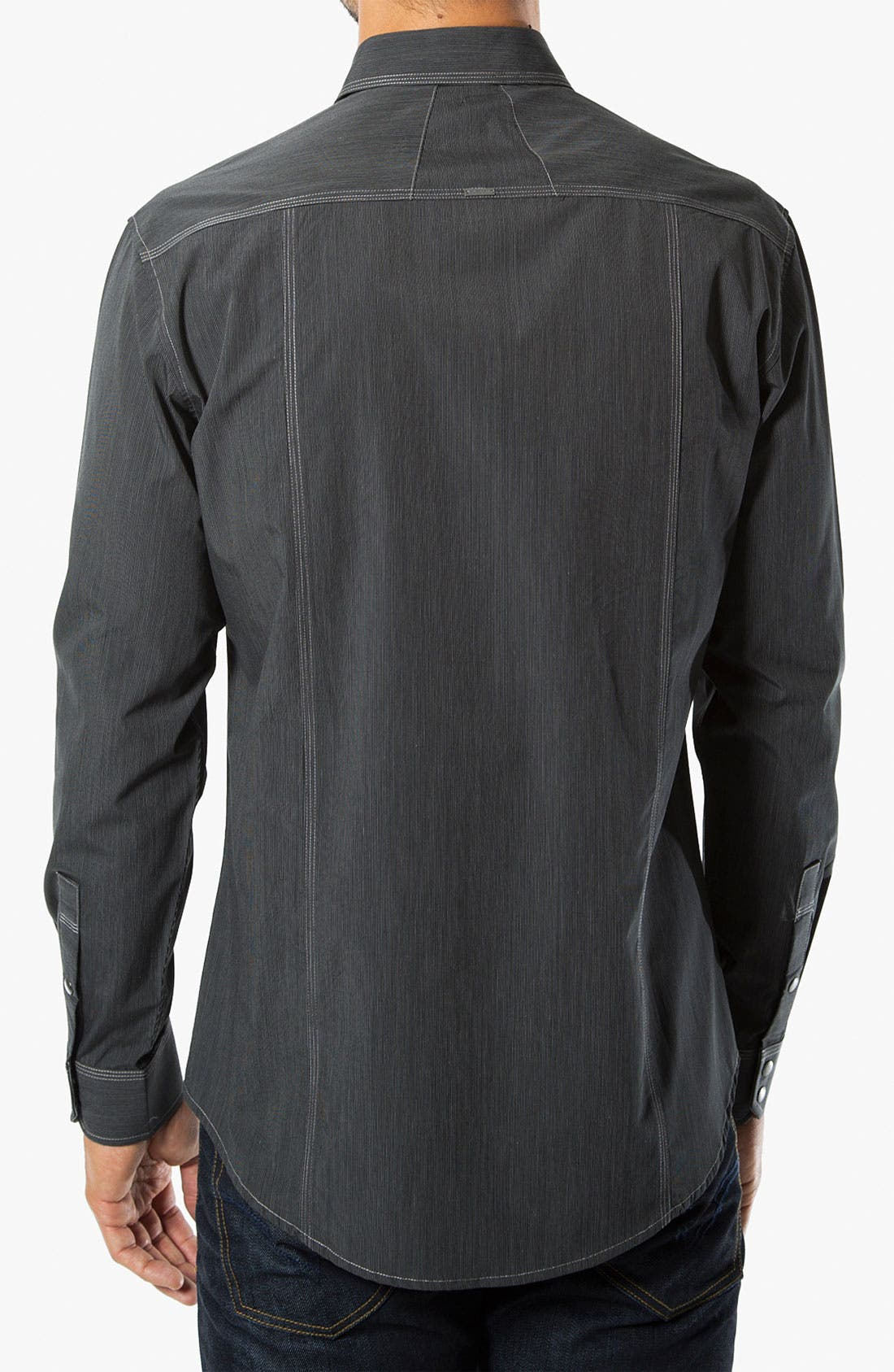 Alternate Image 2  - 7 Diamonds 'Street Life' Trim Fit Cotton Sport Shirt